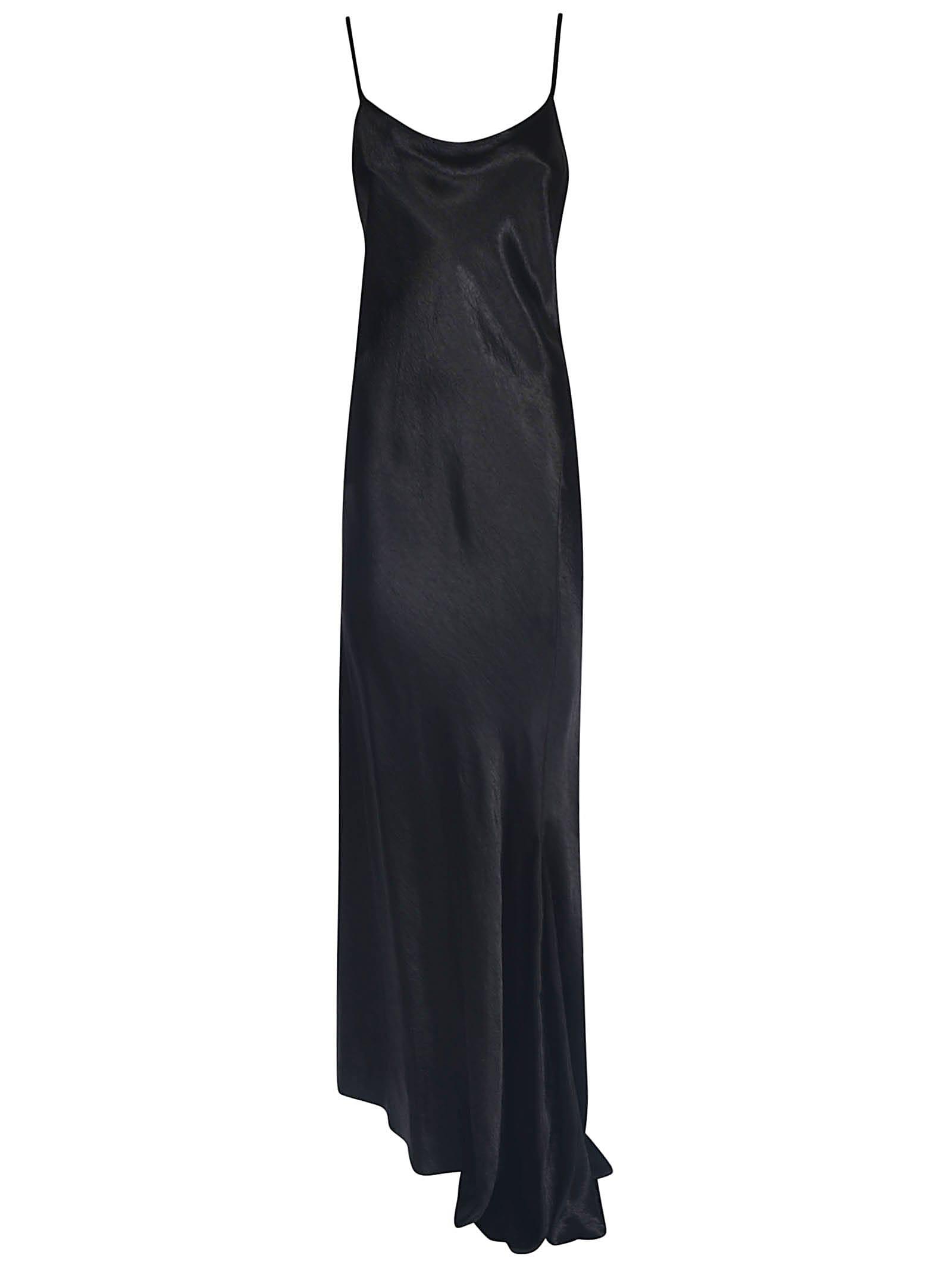 Buy Ann Demeulemeester Asymmetric Hem Long Dress online, shop Ann Demeulemeester with free shipping