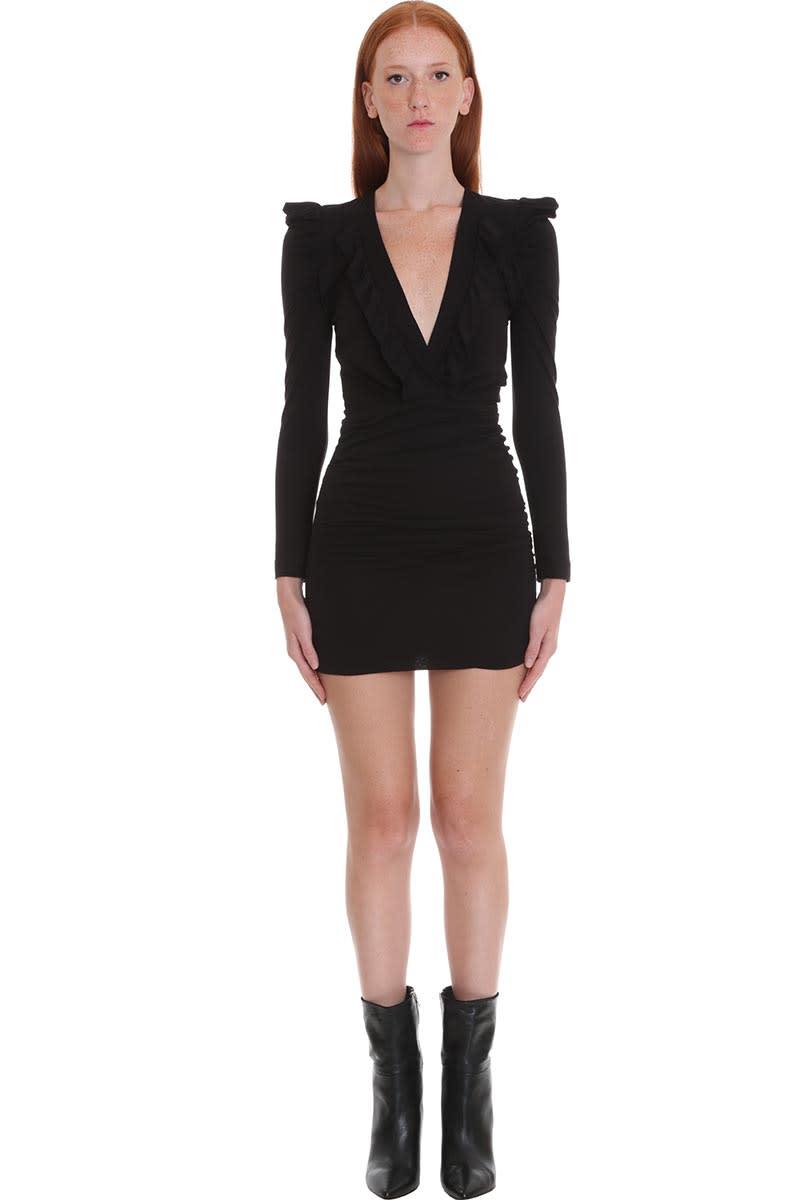 IRO Ebba Dress In Black Viscose