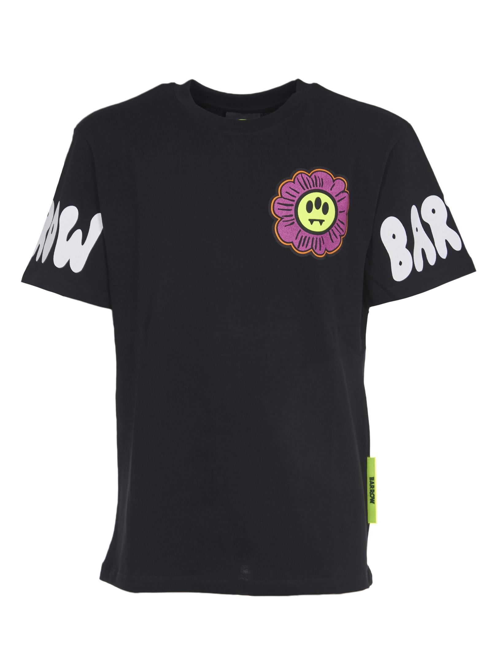 Barrow T-shirts DAISY PRINT T-SHIRT