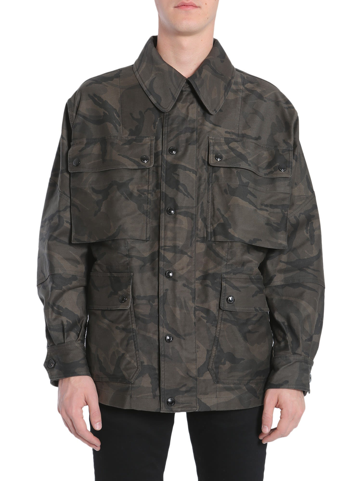 1e6ae1237fa8c Tom Ford Tom Ford Camouflage Jacket - MILITARE - 10728119   italist