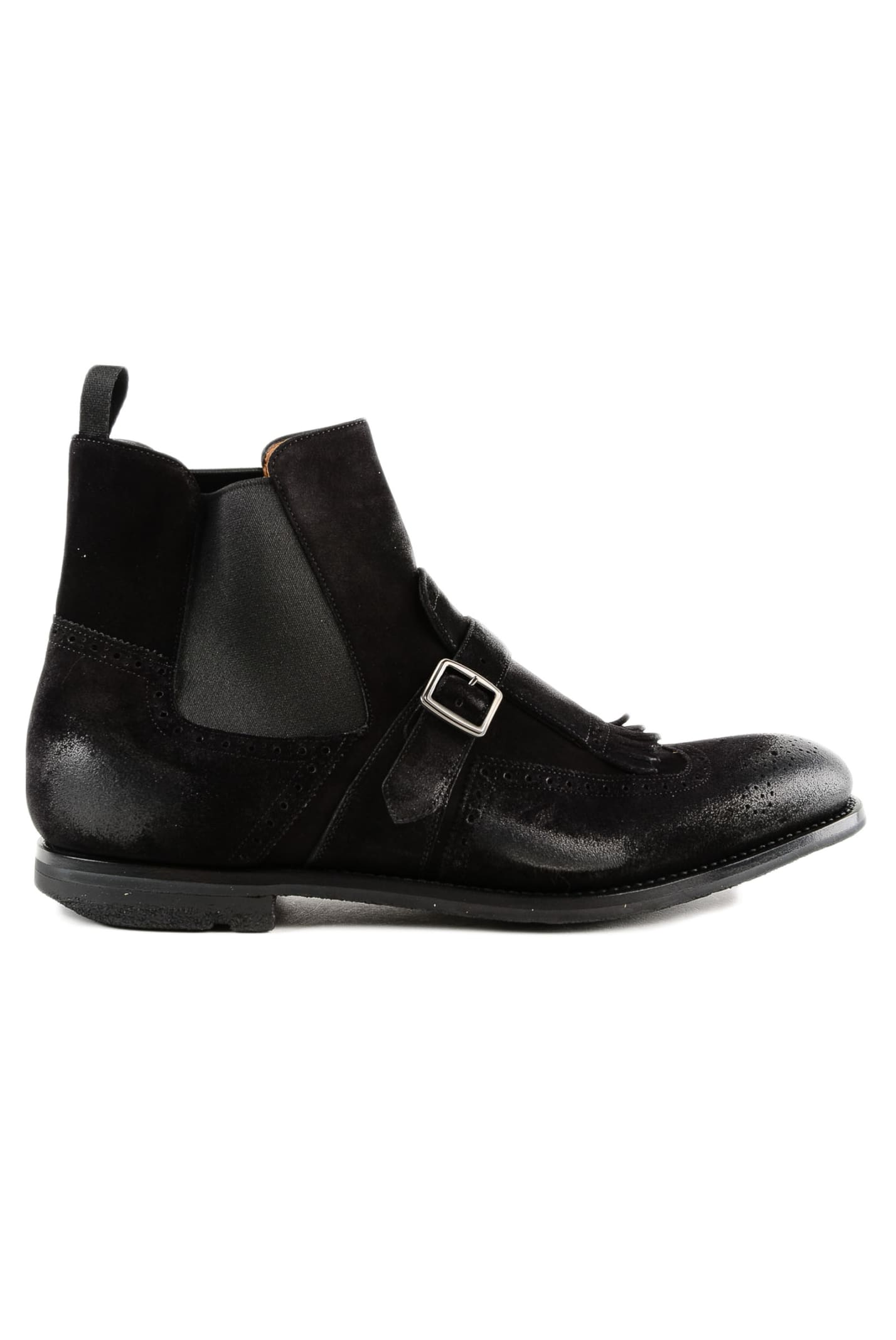 Churchs Buckle Detail Ankle Boots