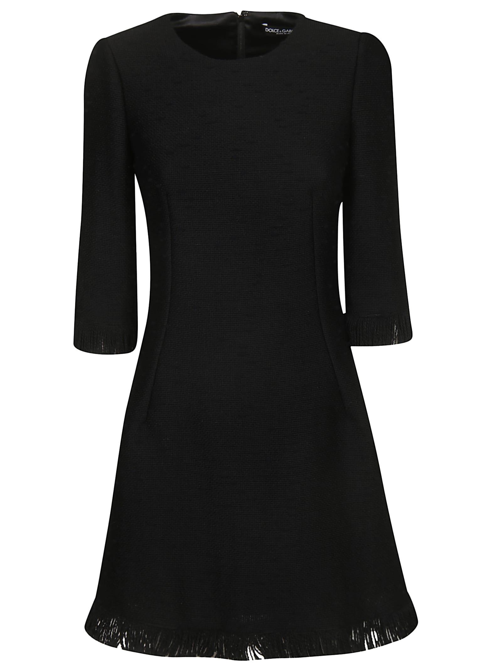 Dolce & Gabbana Fringe Detail Dress