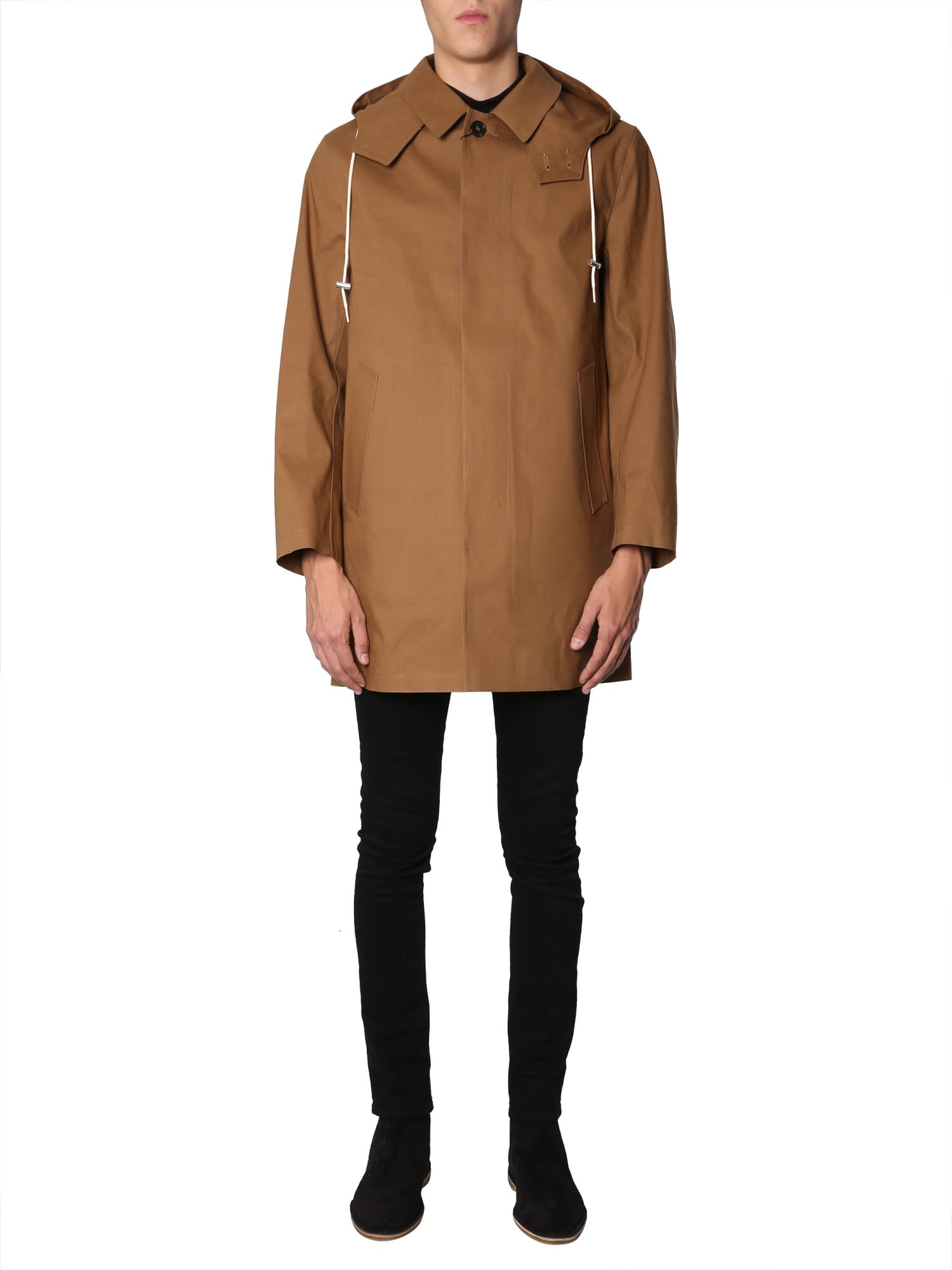 pre order classic style of 2019 yet not vulgar Mackintosh Mackintosh Hooded Coat - MARRONE - 10797995 | italist
