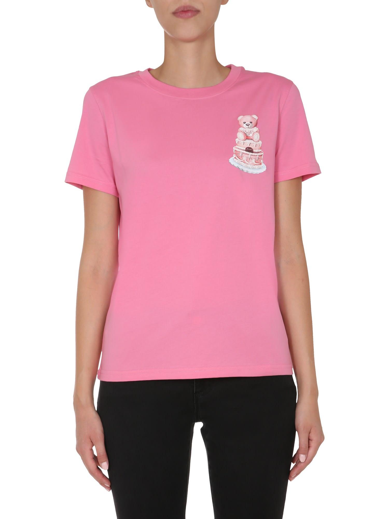 Moschino Round Neck T-shirt