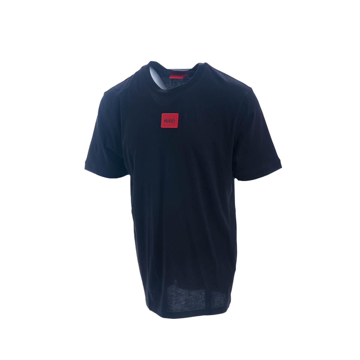 Boss T-shirt In Cotton Blend