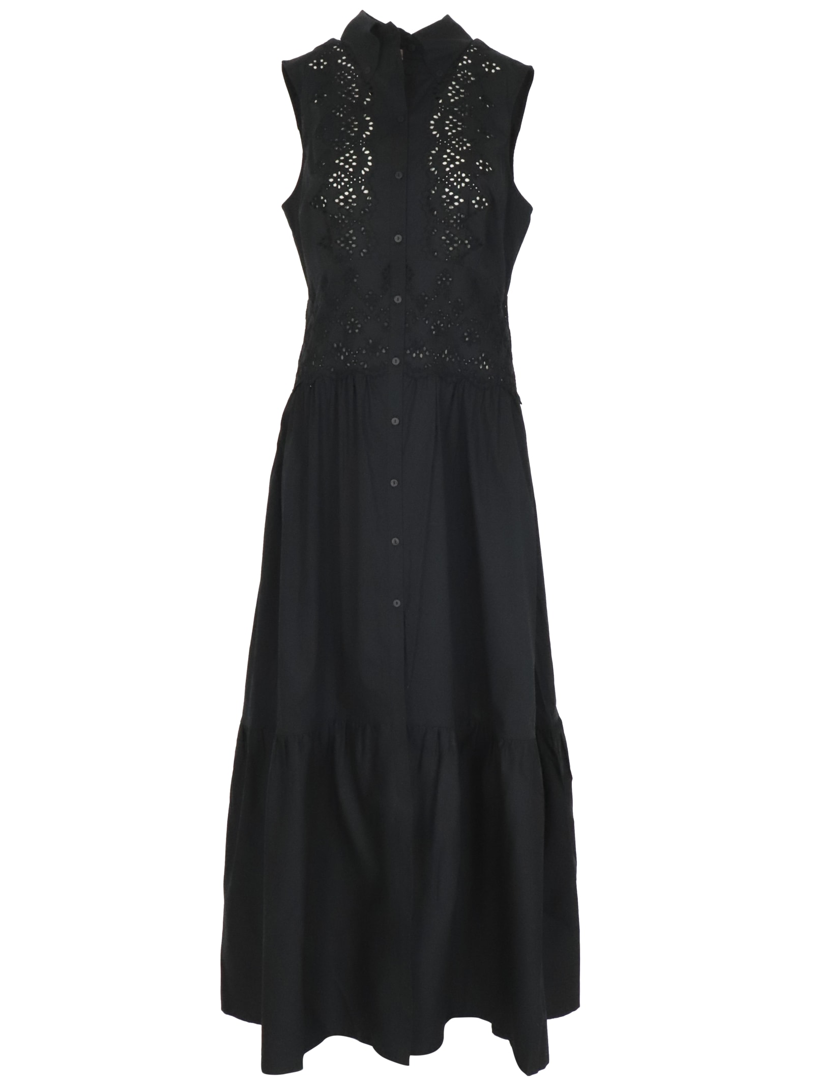Ermanno Scervino Cotton Dress Dress