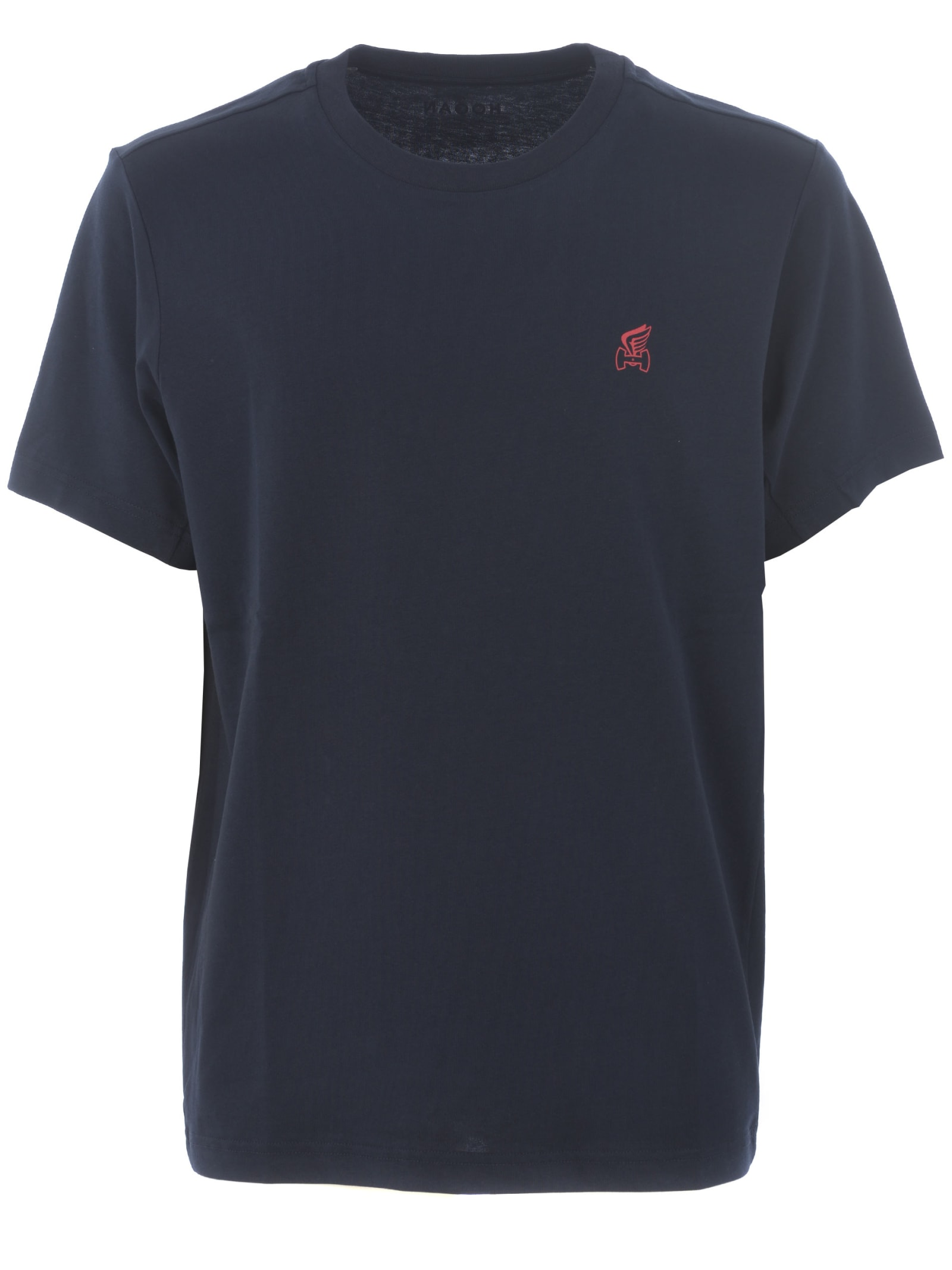 Hogan Short Sleeve T-shirt In Blu Scuro