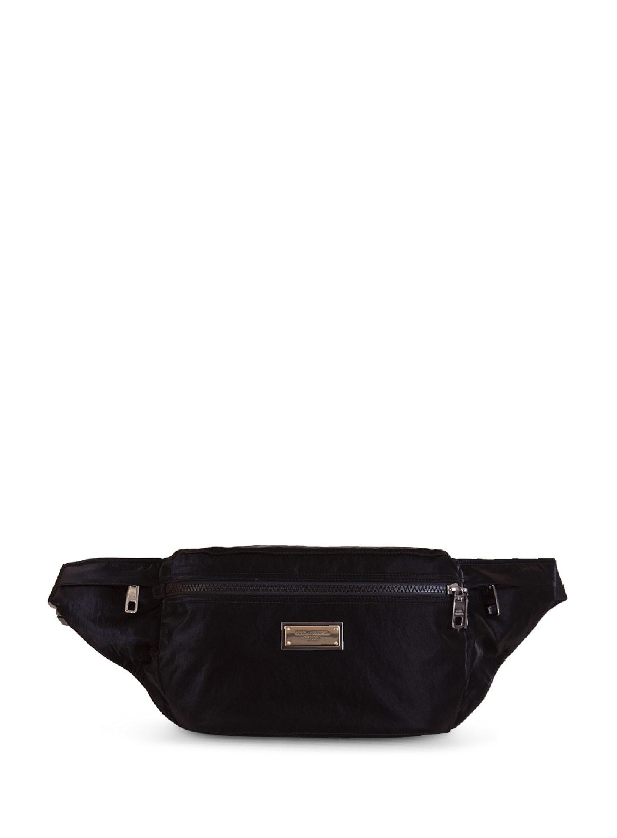 Dolce & Gabbana LOGO-PLAQUE BELT BAG