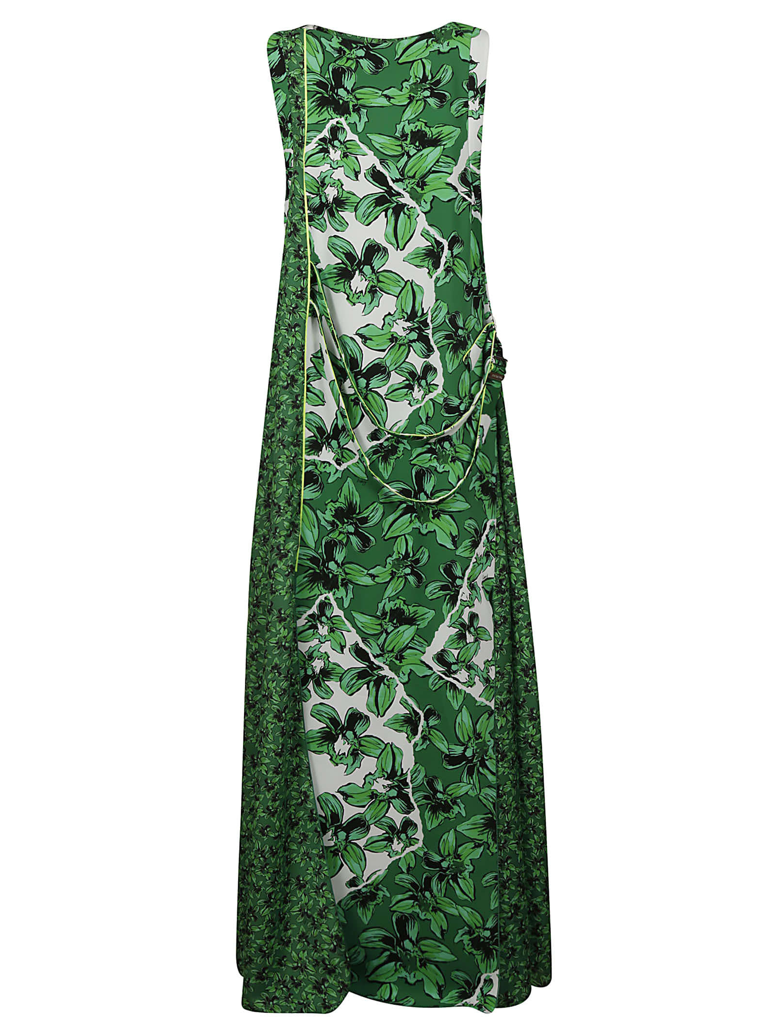 Buy Iceberg All-over Printed Sleeveless Maxi Dress online, shop Iceberg with free shipping