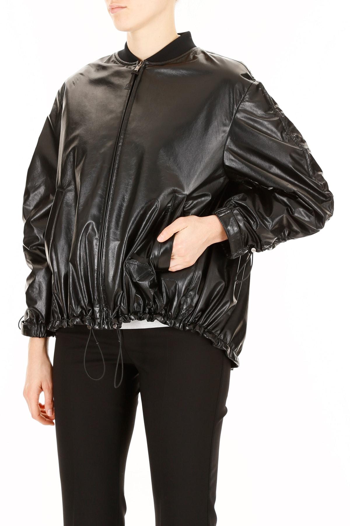 5d74f46b Prada Leather Jacket