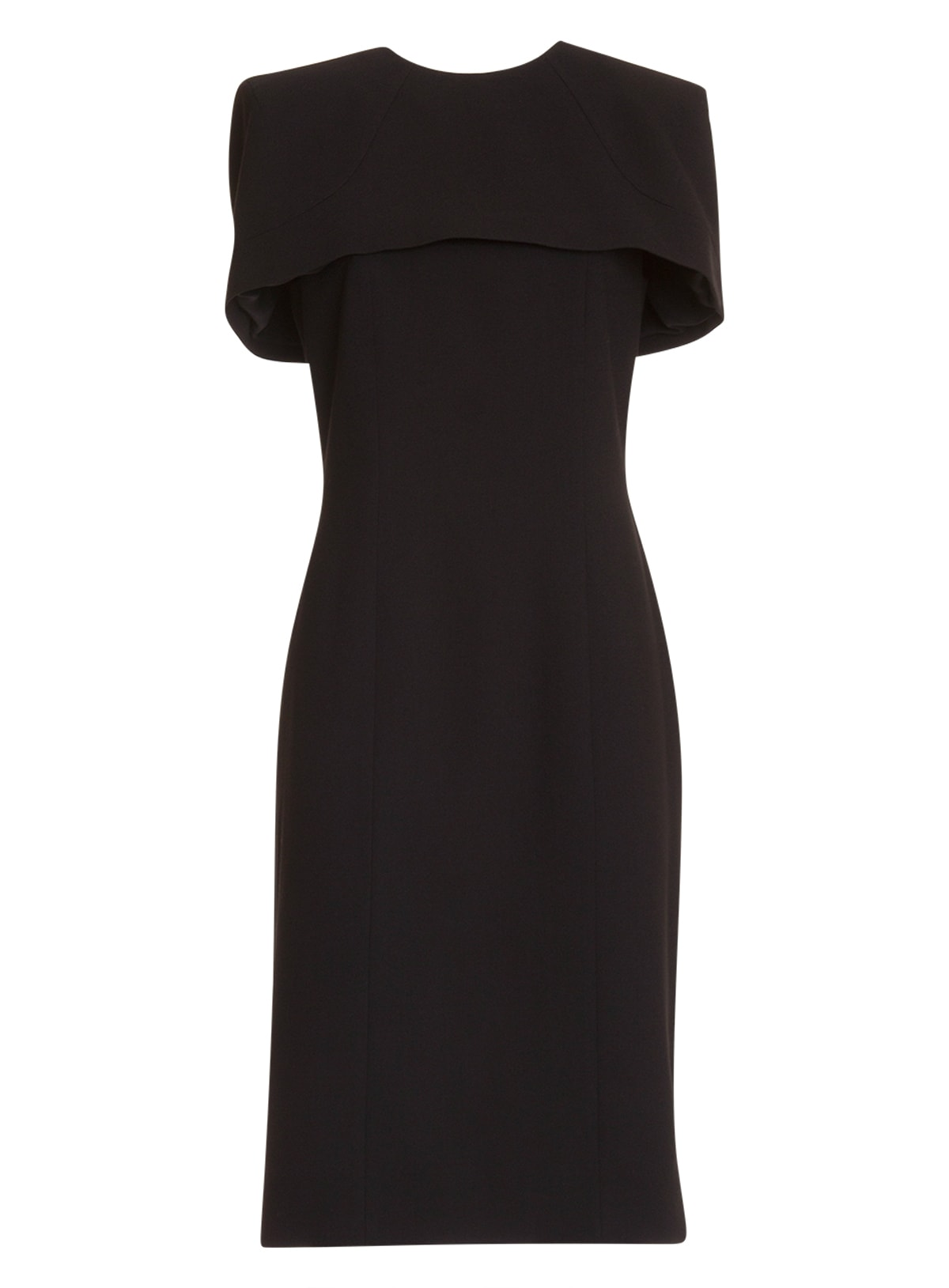 Buy Givenchy Cape Fitted Dress online, shop Givenchy with free shipping