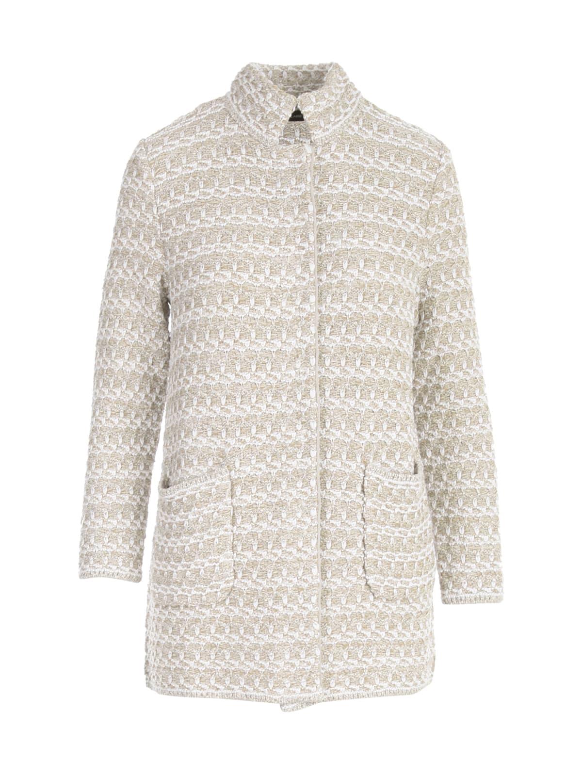 Lurex Bicolour Coat