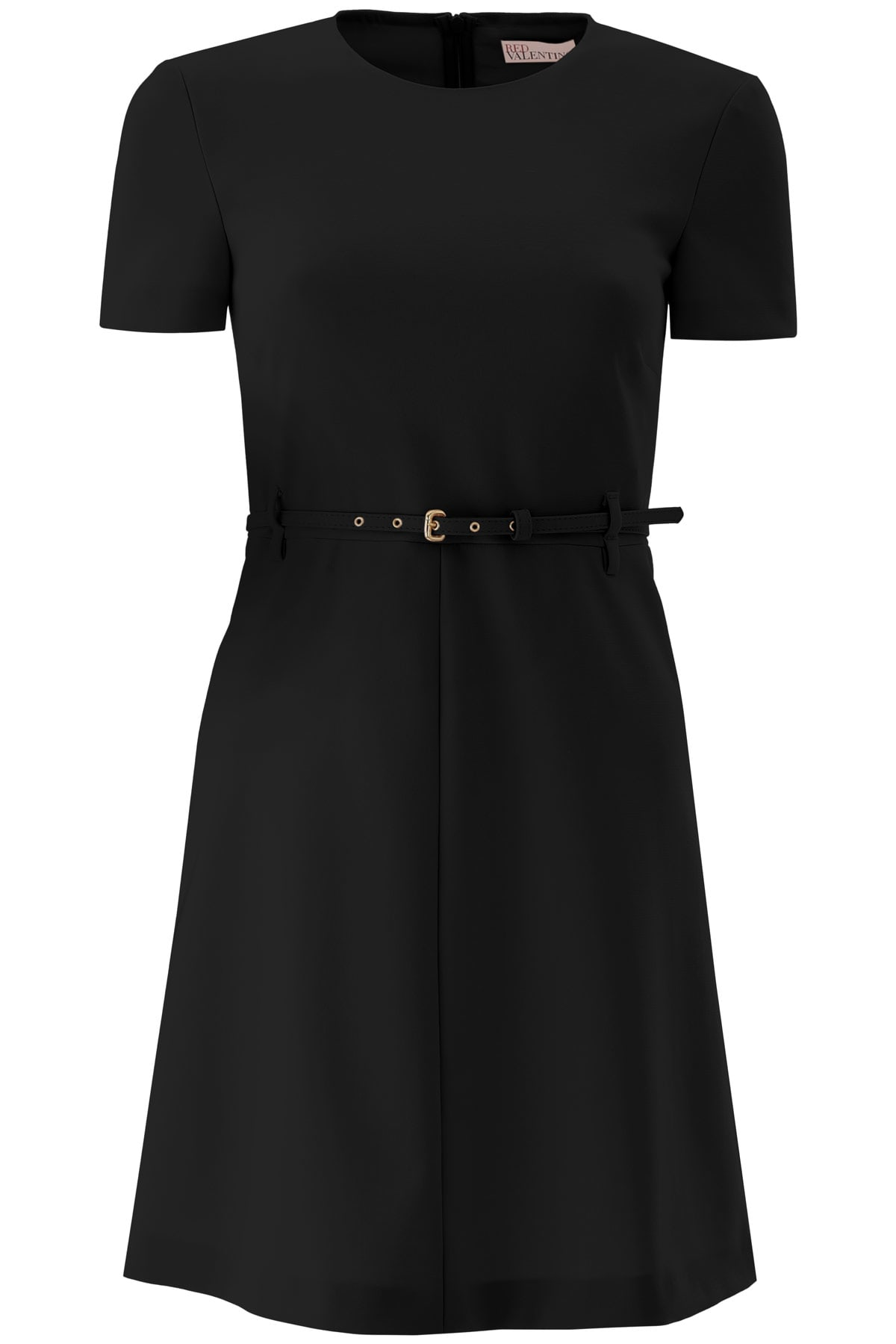 Buy RED Valentino Mini Dress With Belt online, shop RED Valentino with free shipping