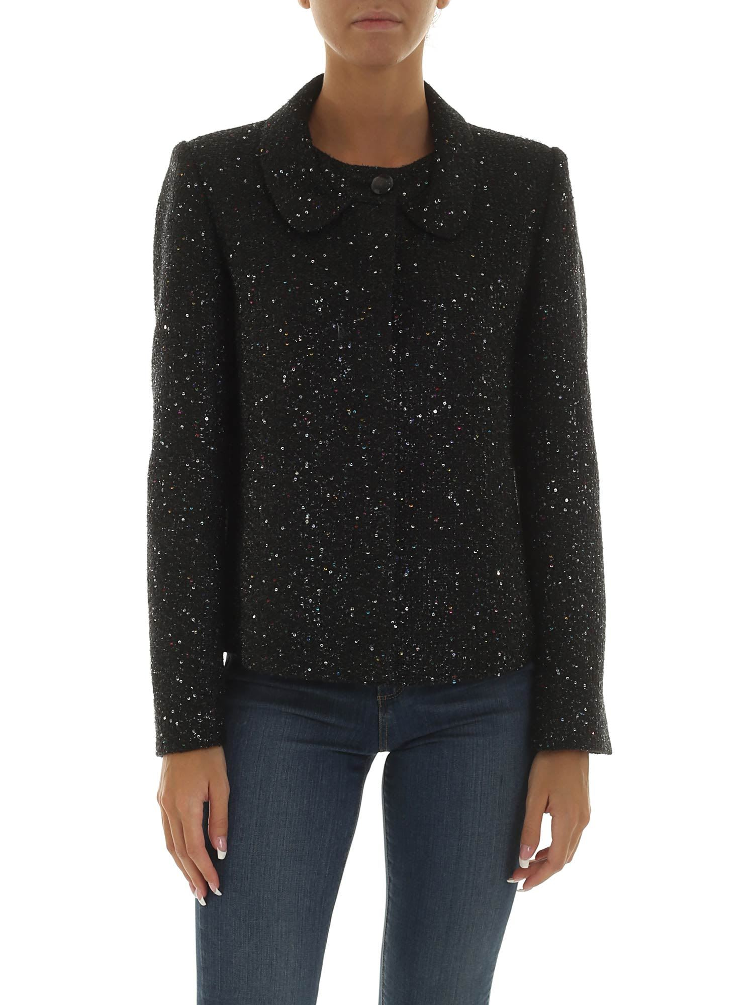 Emporio Armani Sequin Embellished Jacket