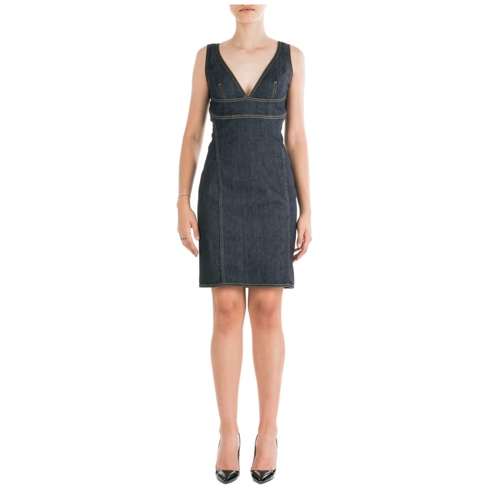 Dsquared2 Short Mini Dress Sleeveless