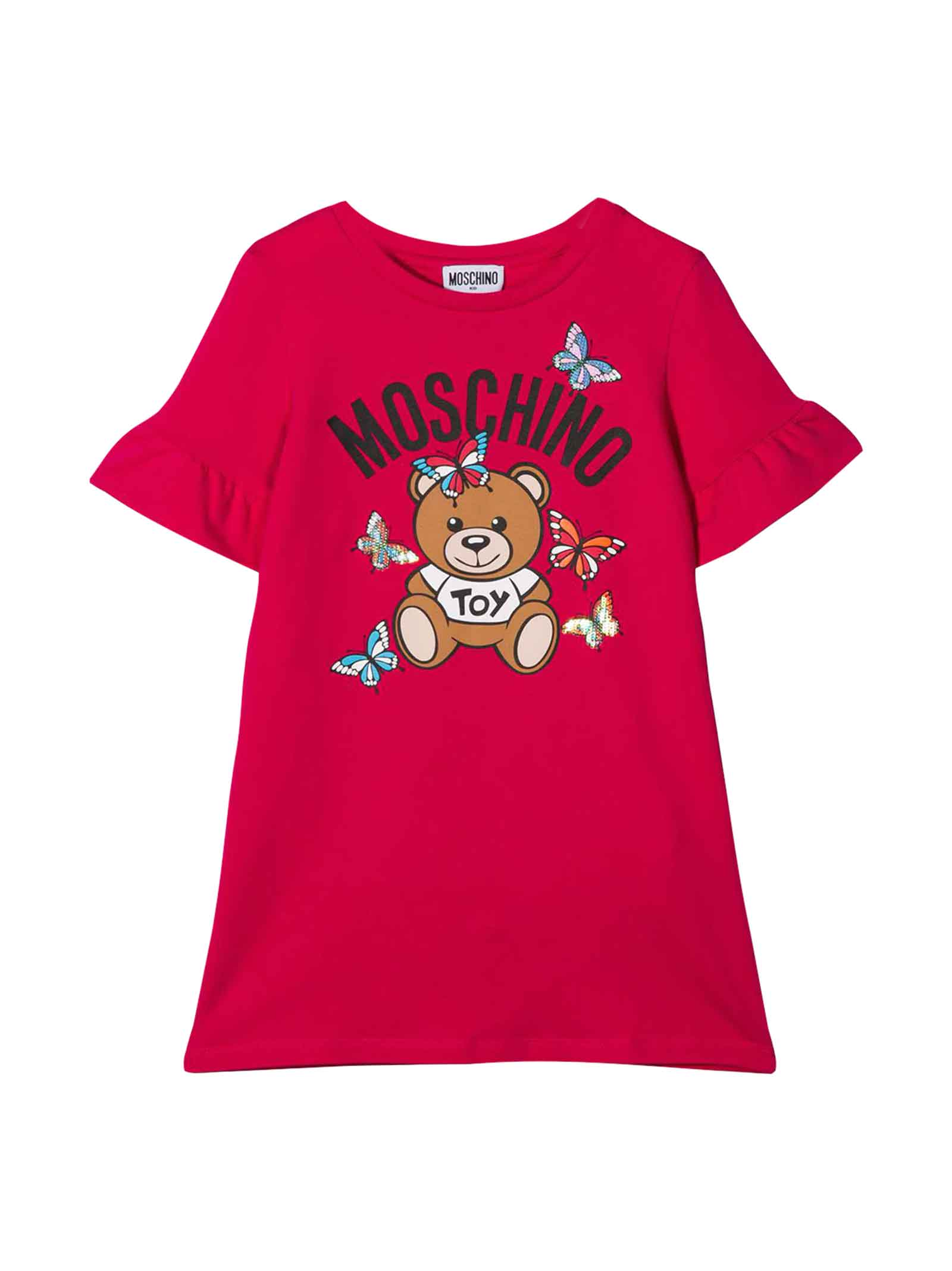 Buy Moschino Fuchsia Dress online, shop Moschino with free shipping