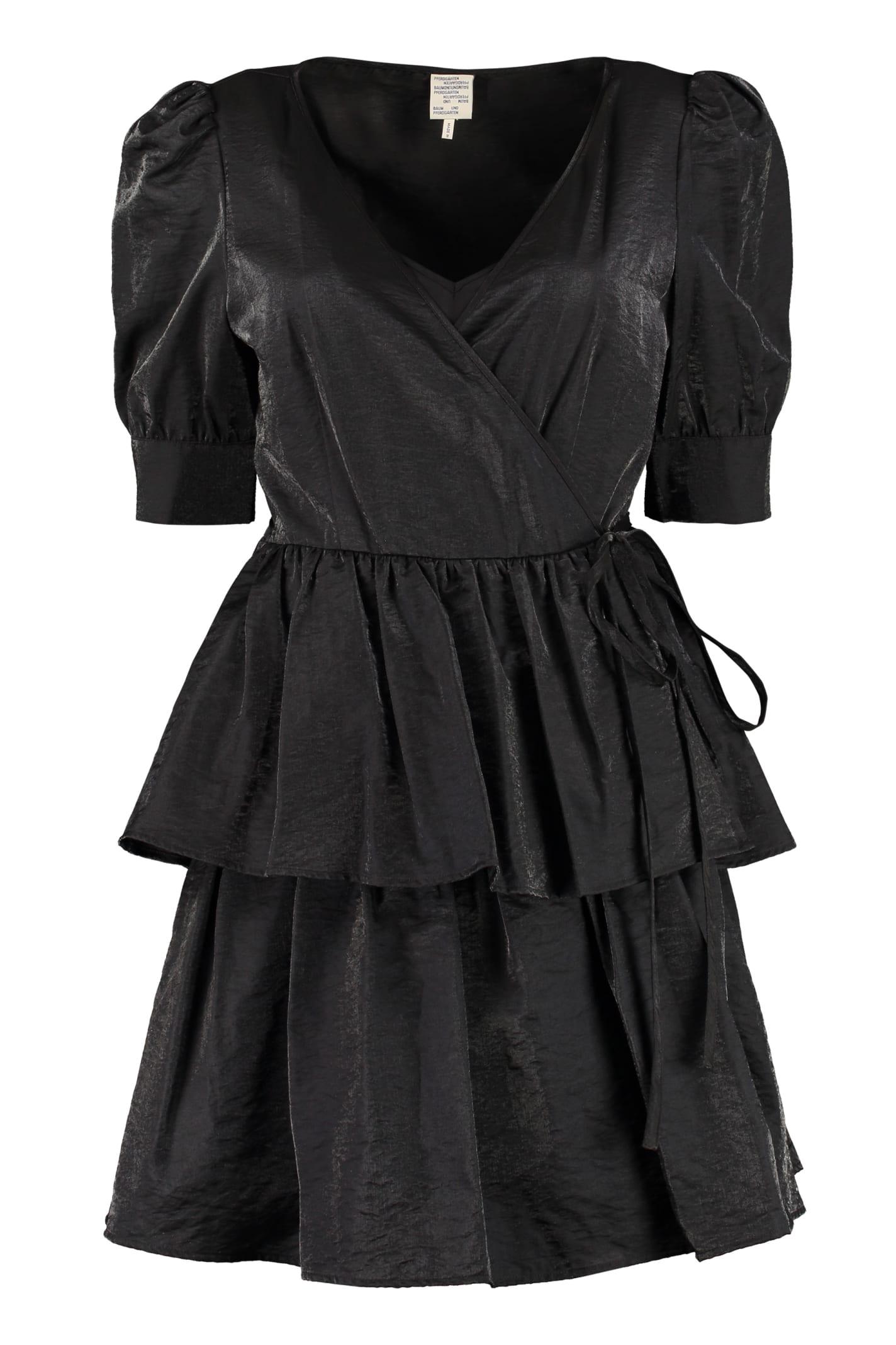 Buy Baum und Pferdgarten Akima Ruffled Dress online, shop Baum und Pferdgarten with free shipping