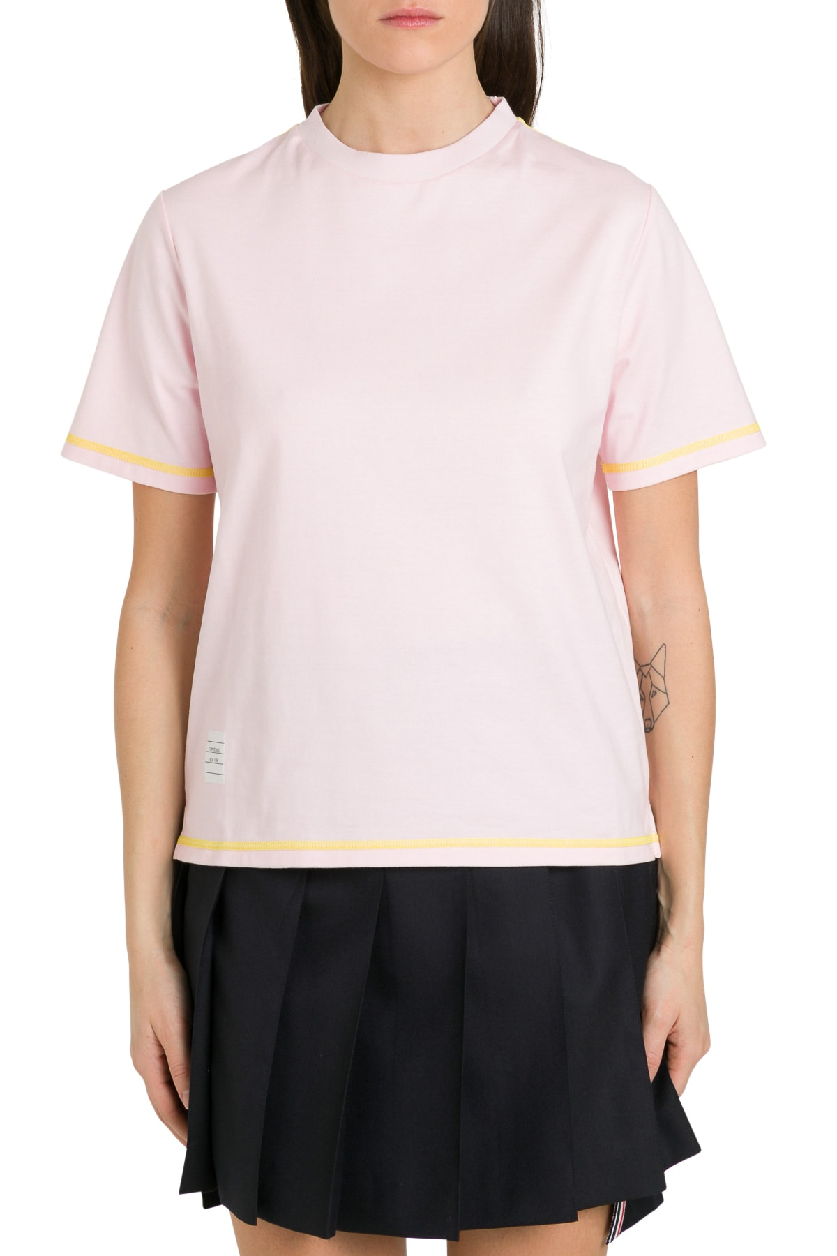 Contrast Stitching Tee