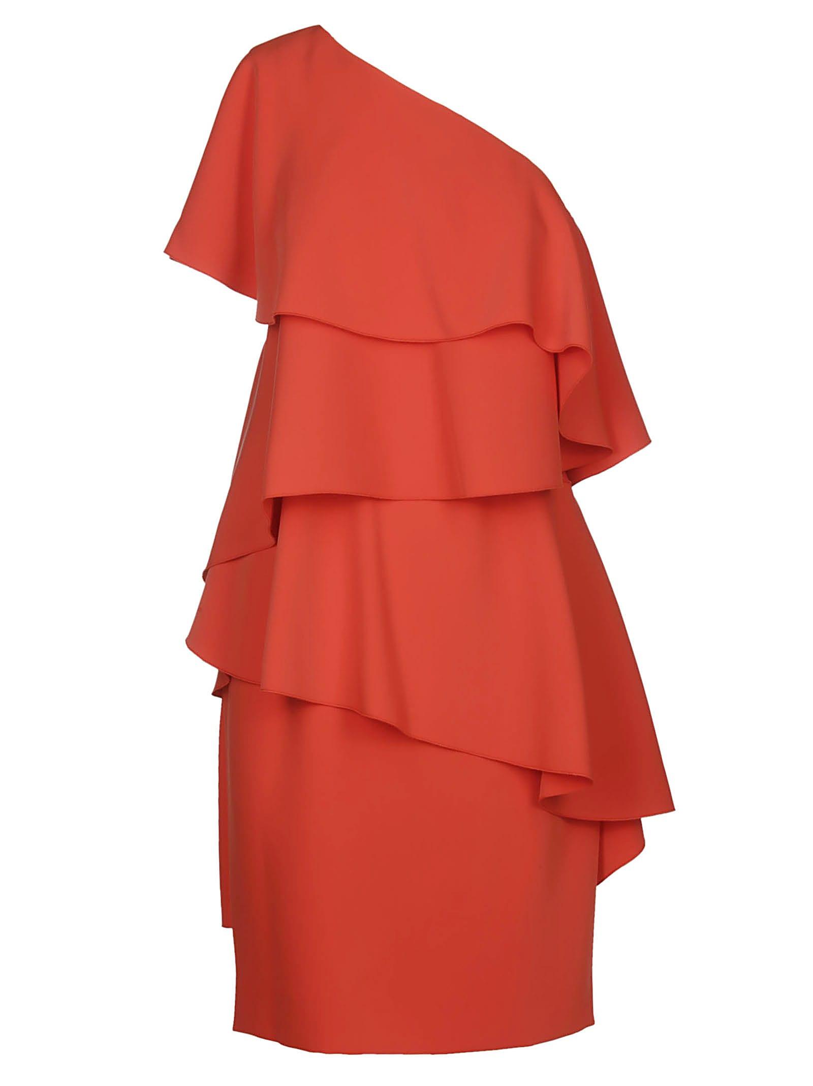 Buy Lanvin Asymmetric Dress online, shop Lanvin with free shipping