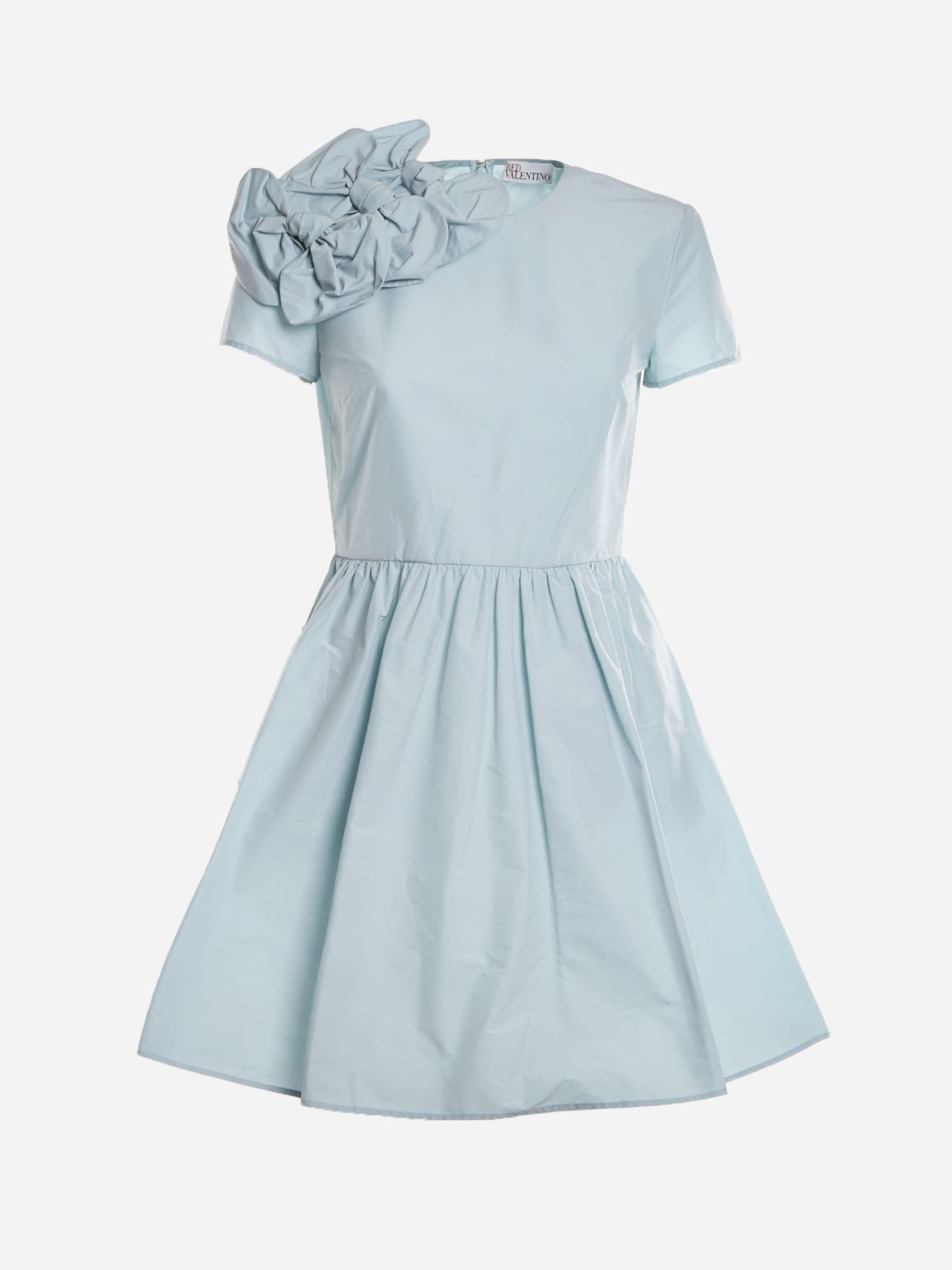 Buy RED Valentino Cotton Blend Dress With Bows Detail online, shop RED Valentino with free shipping