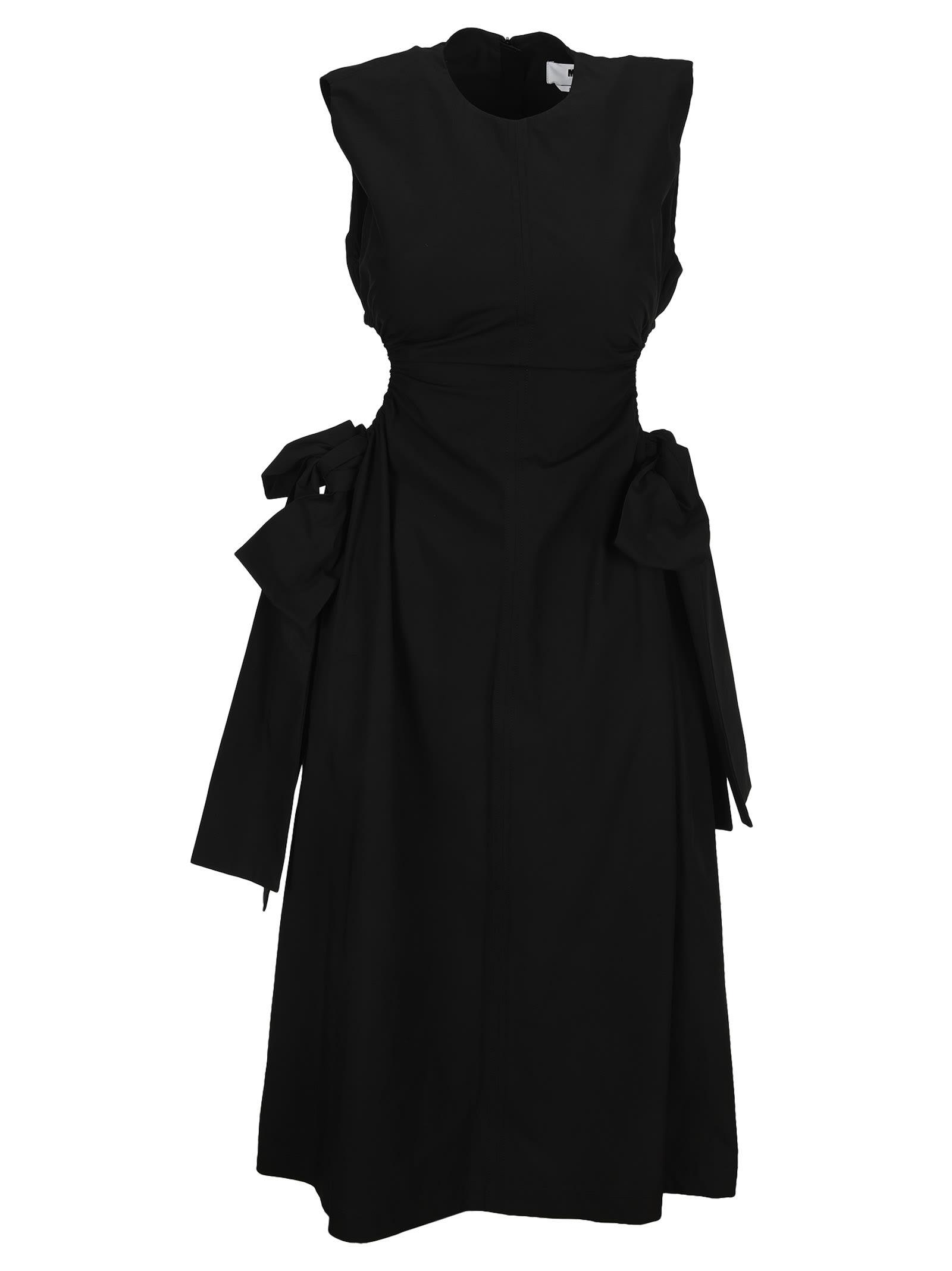 Msgm Clothing MSGM CUT-OUT DETAIL SLEEVELESS DRESS