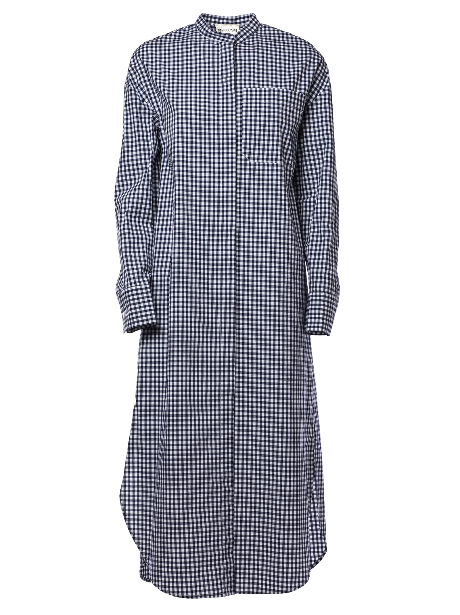 SEMICOUTURE Striped Shirt Dress
