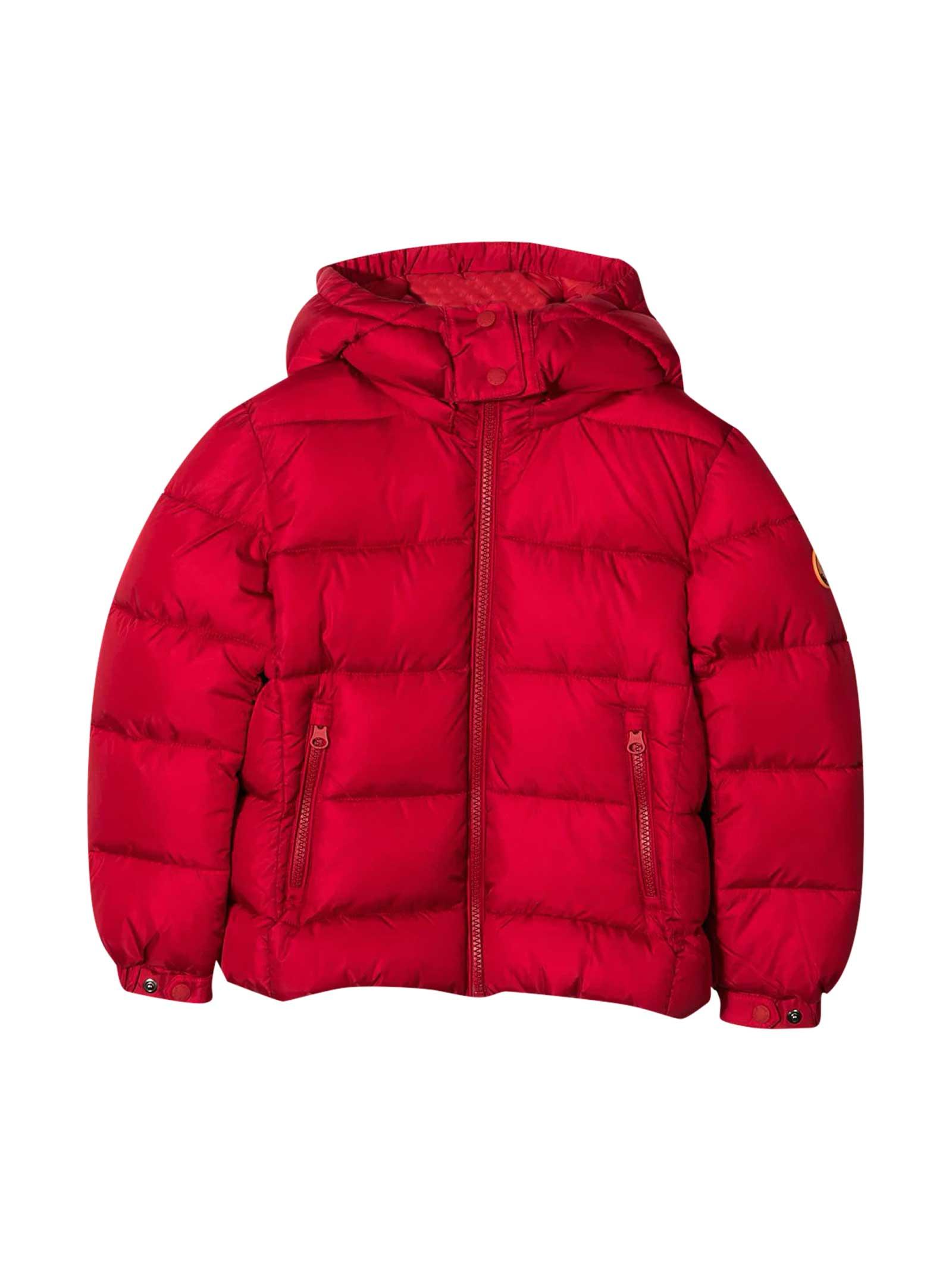 Save the Duck Red Lightweight Jacket Kids