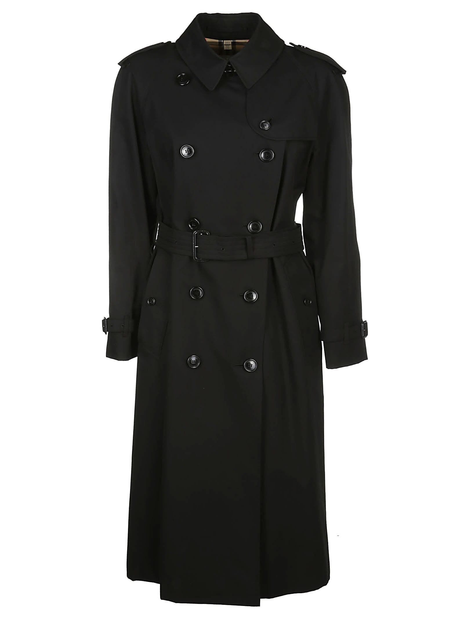 Photo of  Burberry Gabardine Trench Coat- shop Burberry jackets online sales