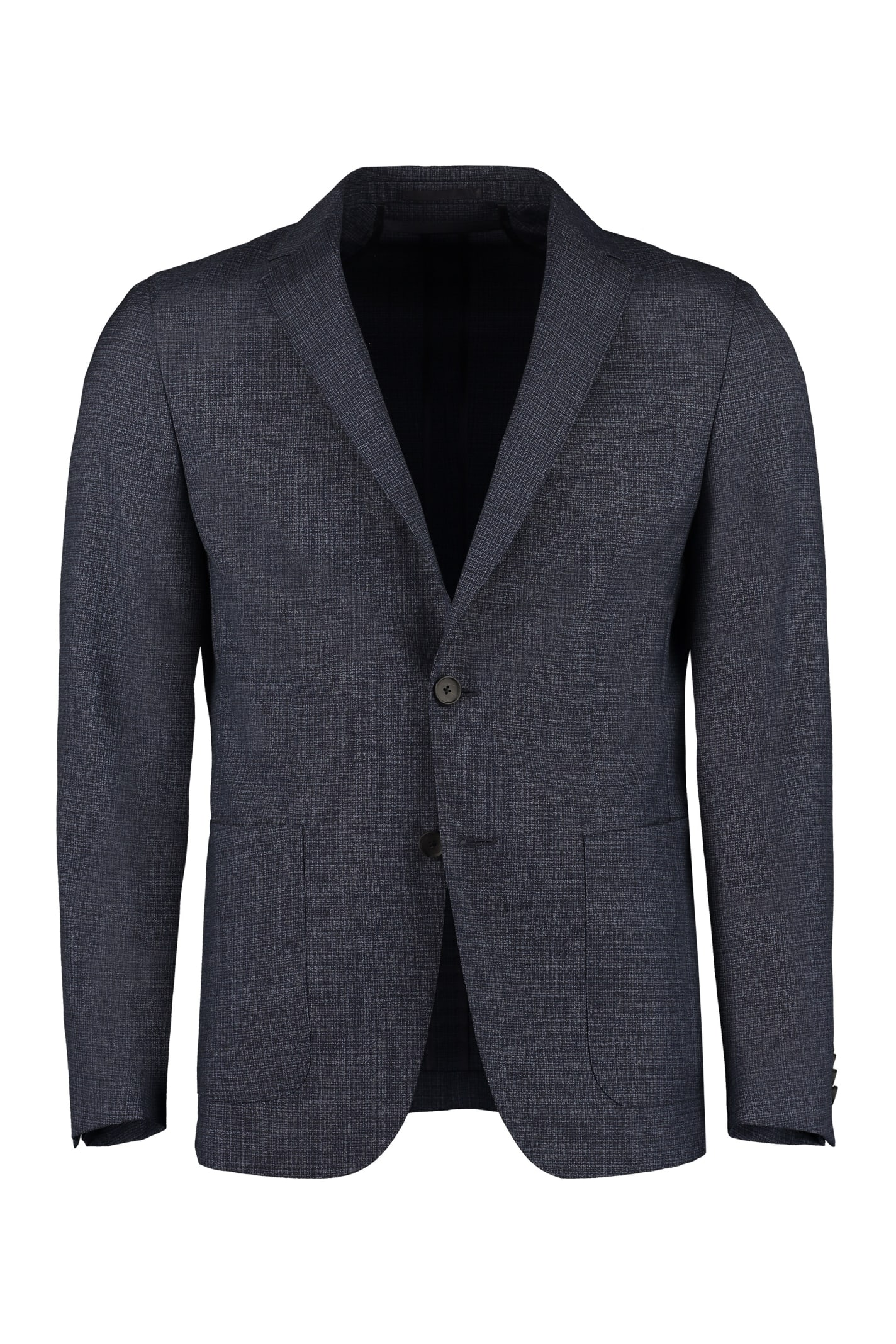Hugo Boss Single-breasted Two-button Blazer