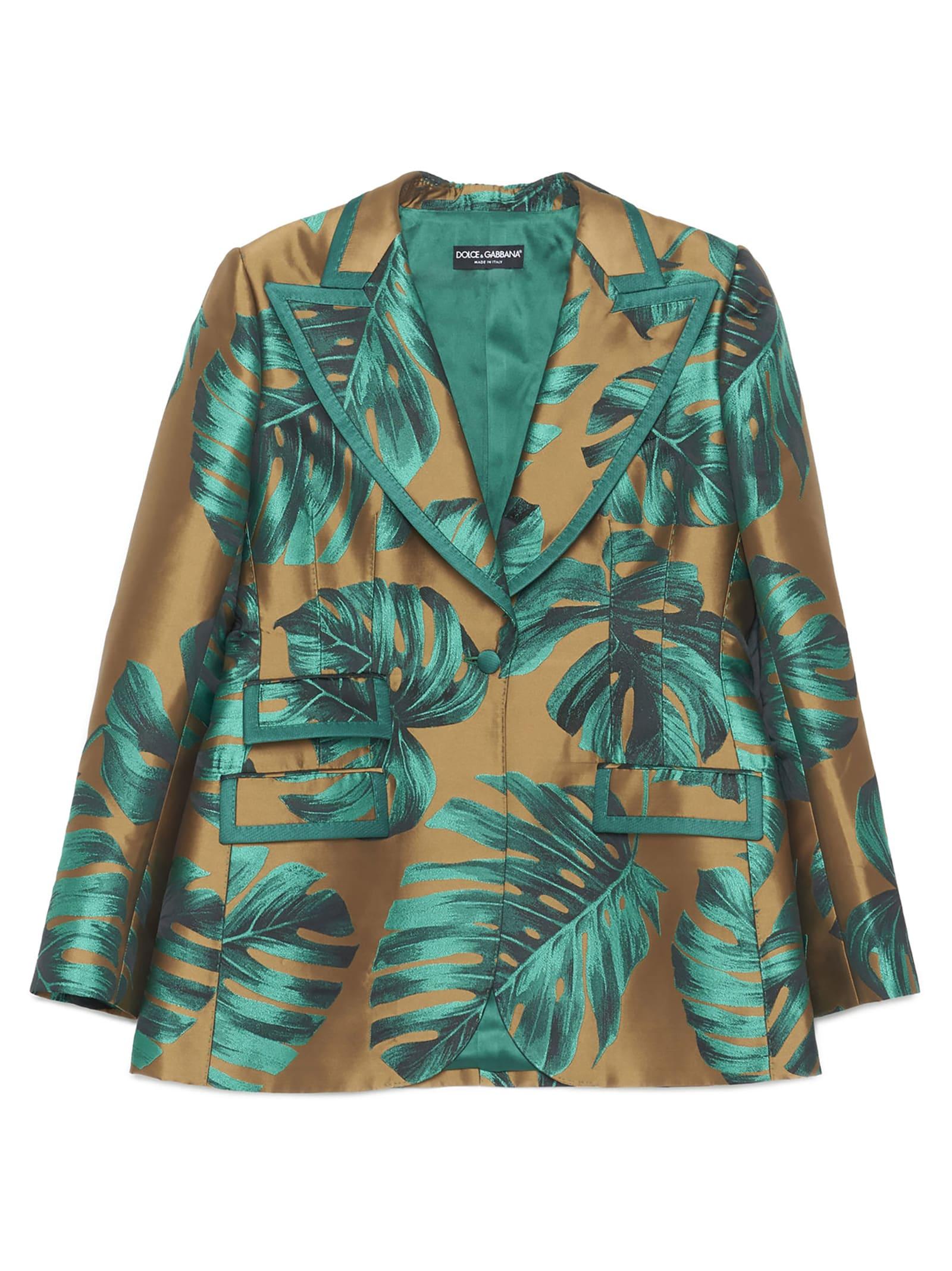 Dolce & Gabbana filodendro Blazer