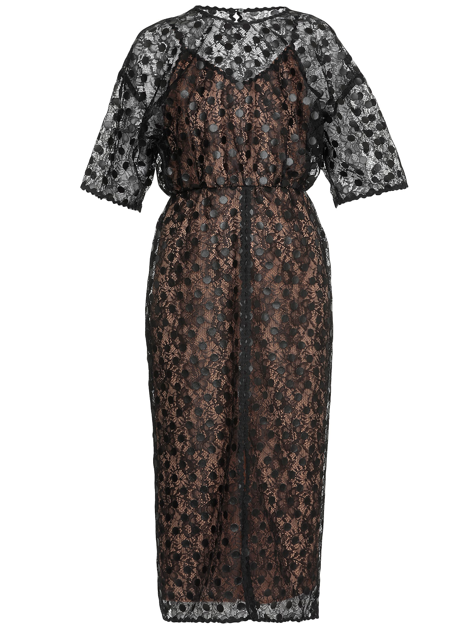 Buy Marco de Vincenzo Laces Dress online, shop Marco de Vincenzo with free shipping