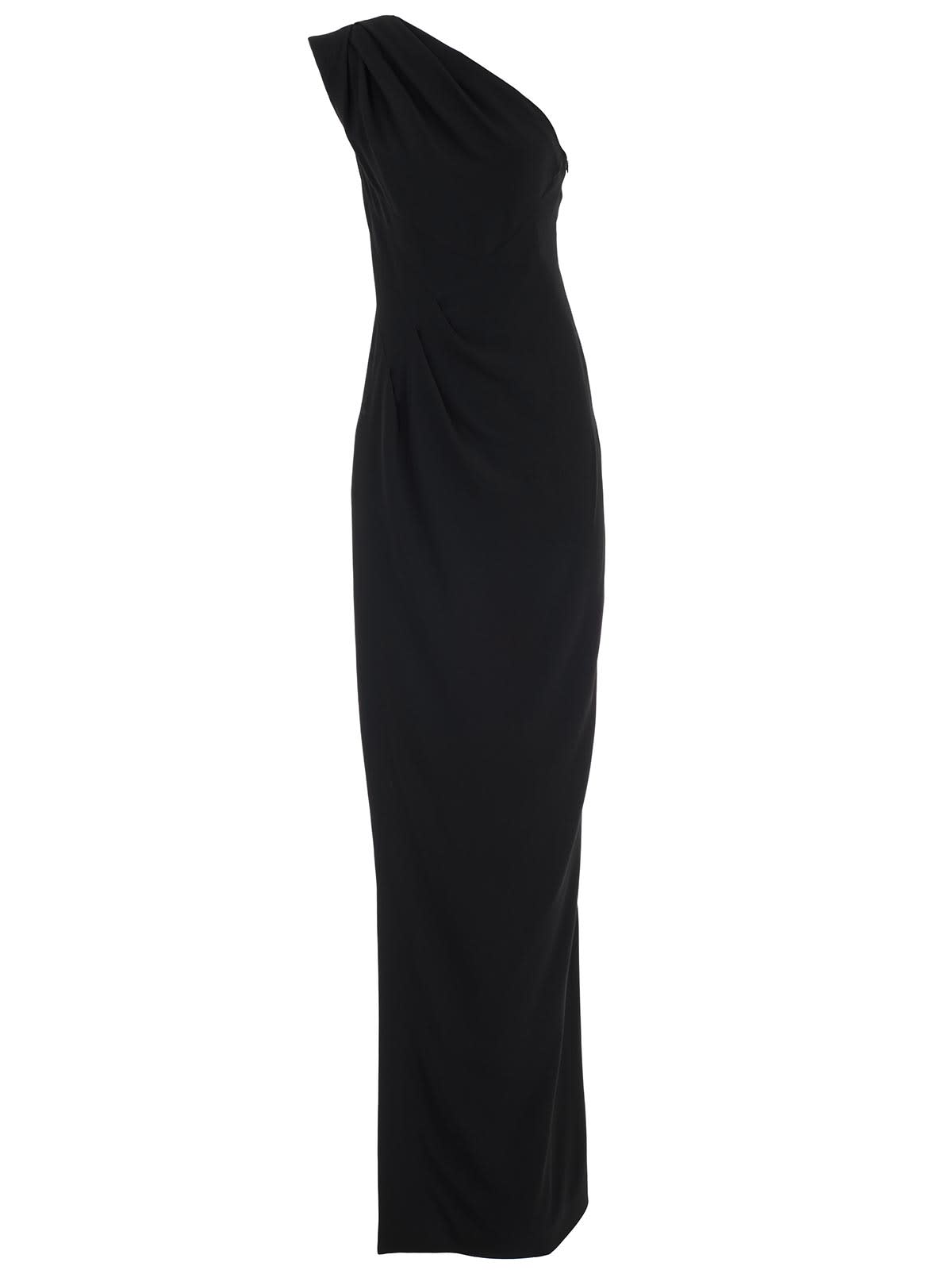 Dsquared2 Dress Single Shoulder Longo Viscose Crepe