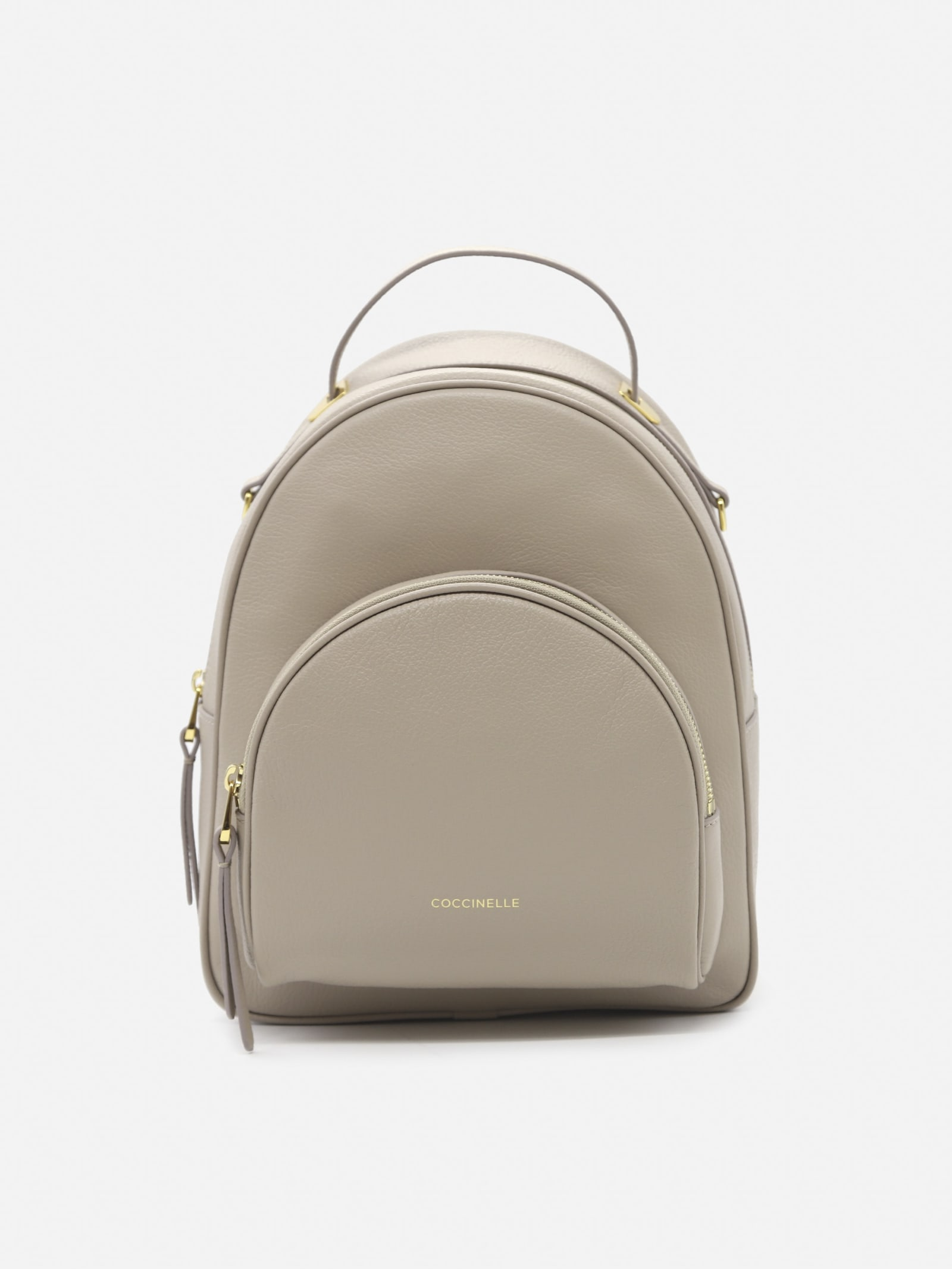 Lea Backpack In Grained Leather