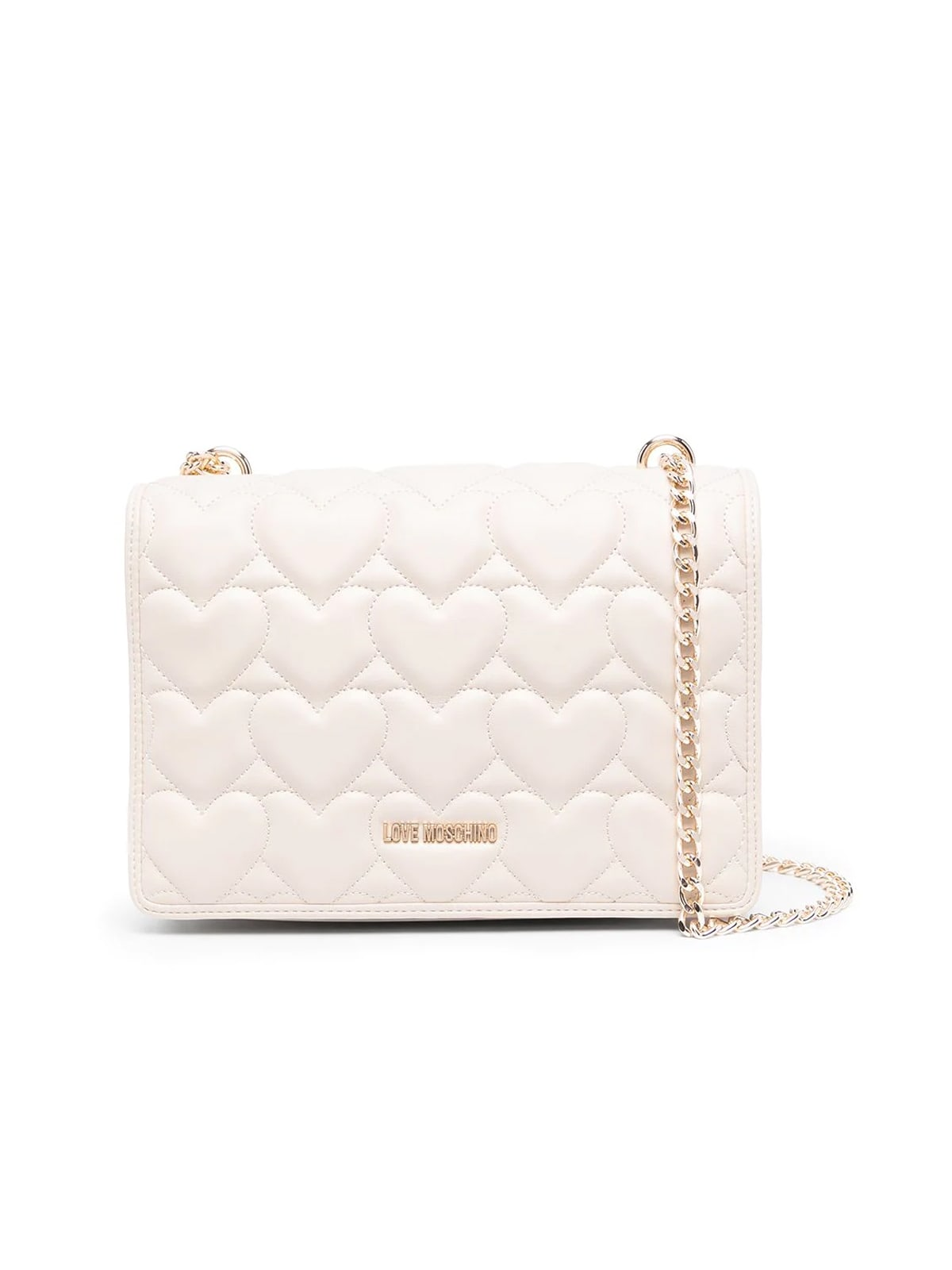 Love Moschino Crossbody bags HEART QUILTED SHOULDER BAG