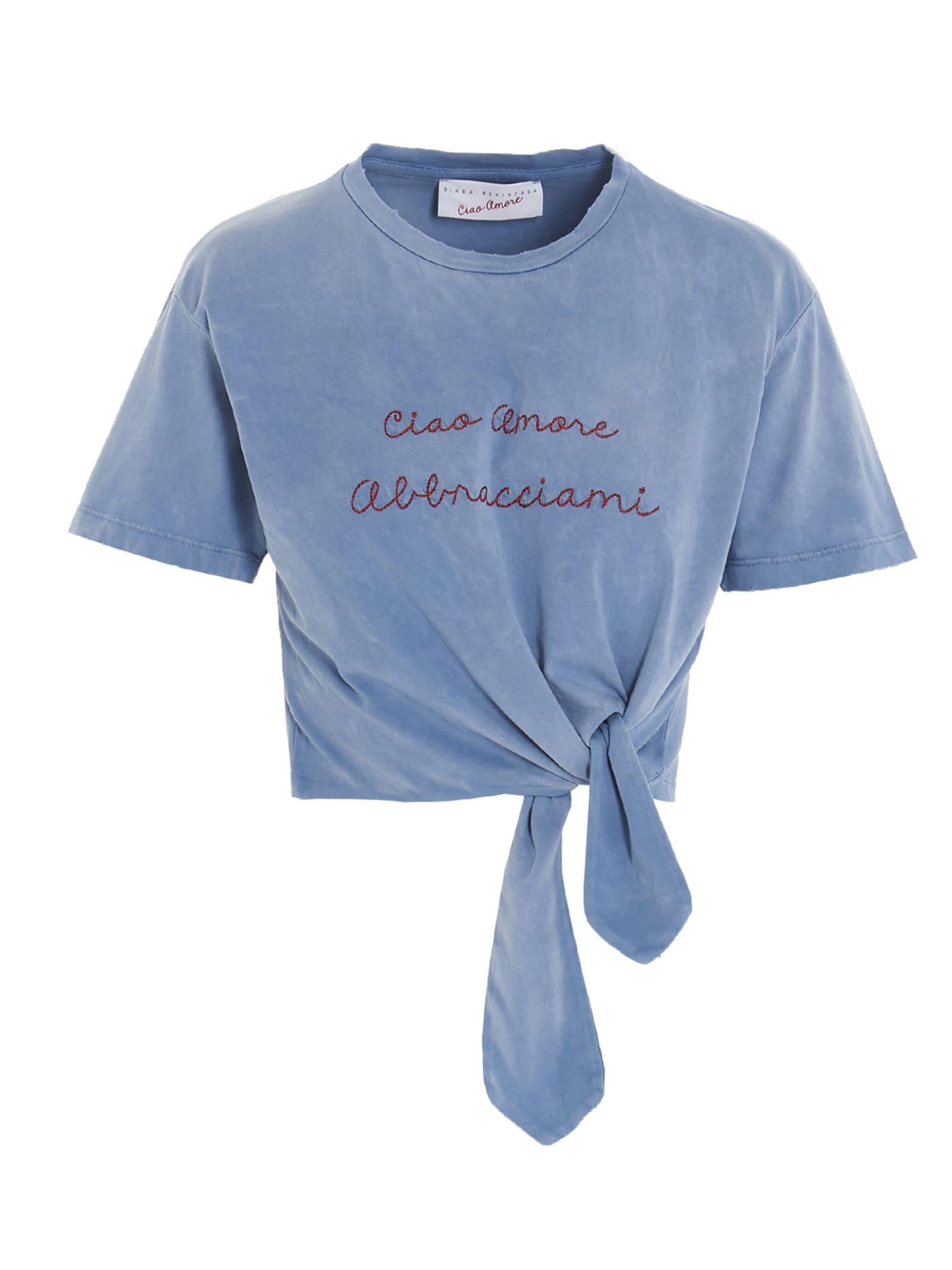 ciao Amore Abbracciami T-shirt