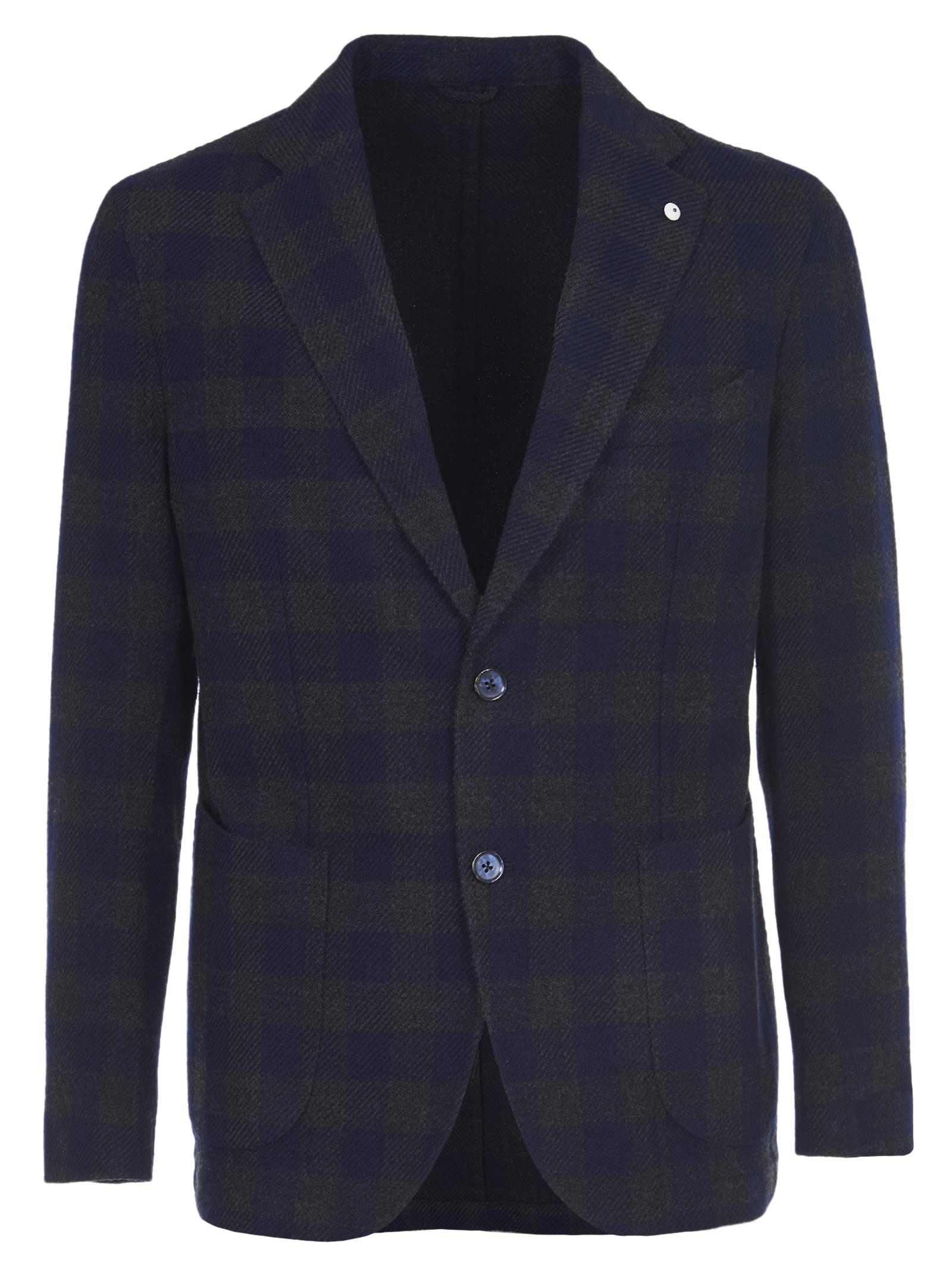 1911 Blue And Green Checkered Jacket