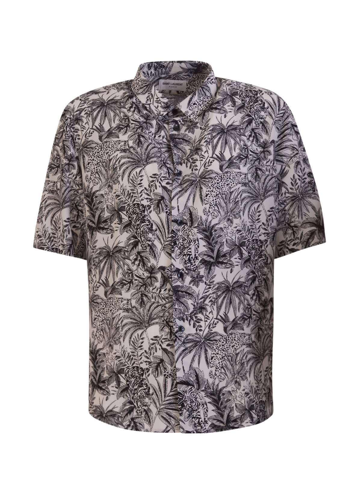 Saint Laurent Shirts SHIRT IN VISCOSE