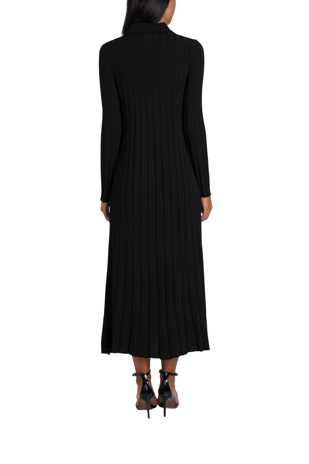 Buy Mauro Grifoni Ribbed Maxi Dress online, shop Mauro Grifoni with free shipping