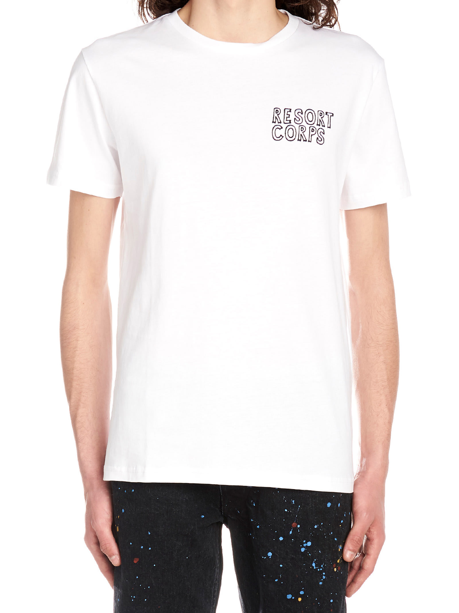 Resort Corps sketch Logo T-shirt