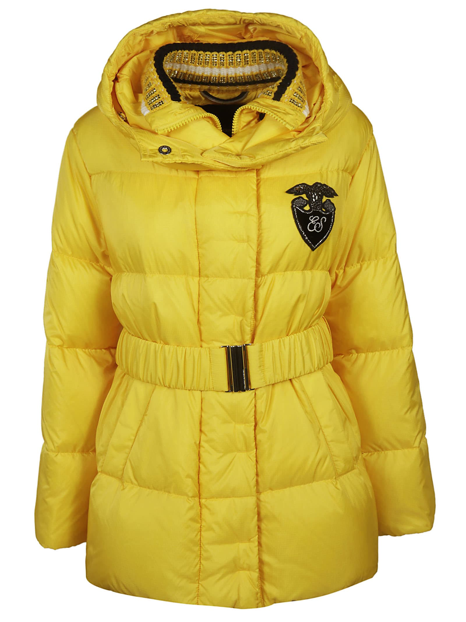 Ermanno Scervino Belted Padded Jacket