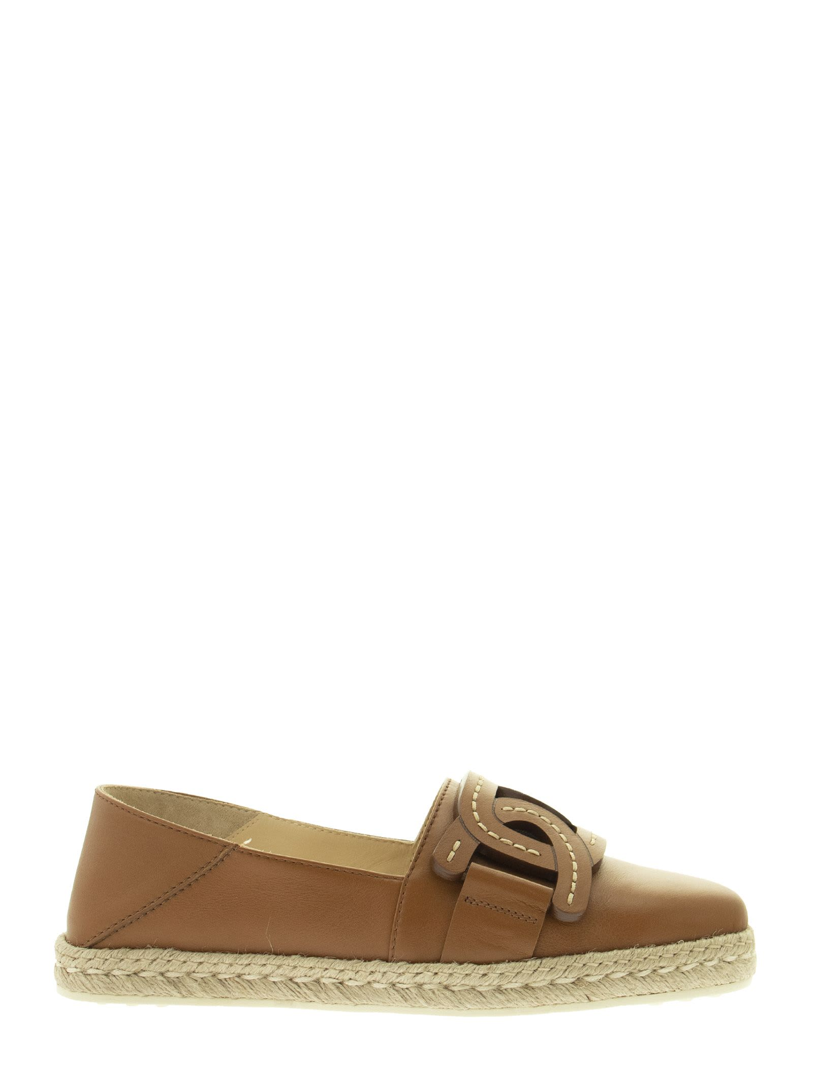 Buy Tods Slip-ons In Leather online, shop Tods shoes with free shipping