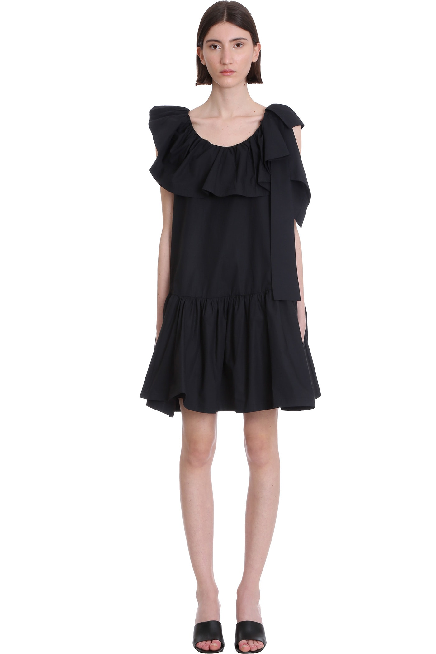 Buy 3.1 Phillip Lim Tent Dress In Black Cotton online, shop 3.1 Phillip Lim with free shipping
