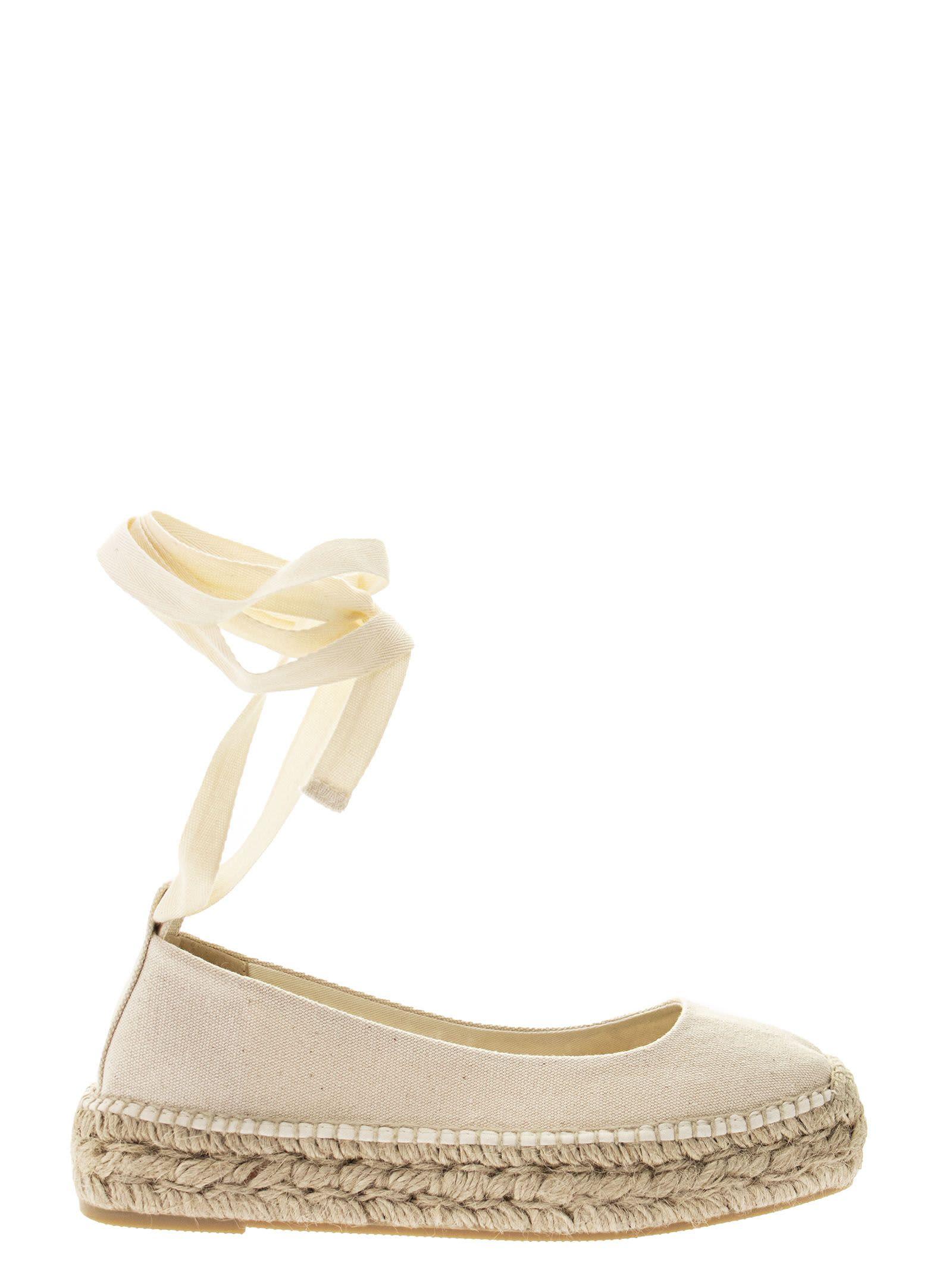 Buy Ralph Lauren Canvas Platform Espadrille online, shop Ralph Lauren shoes with free shipping