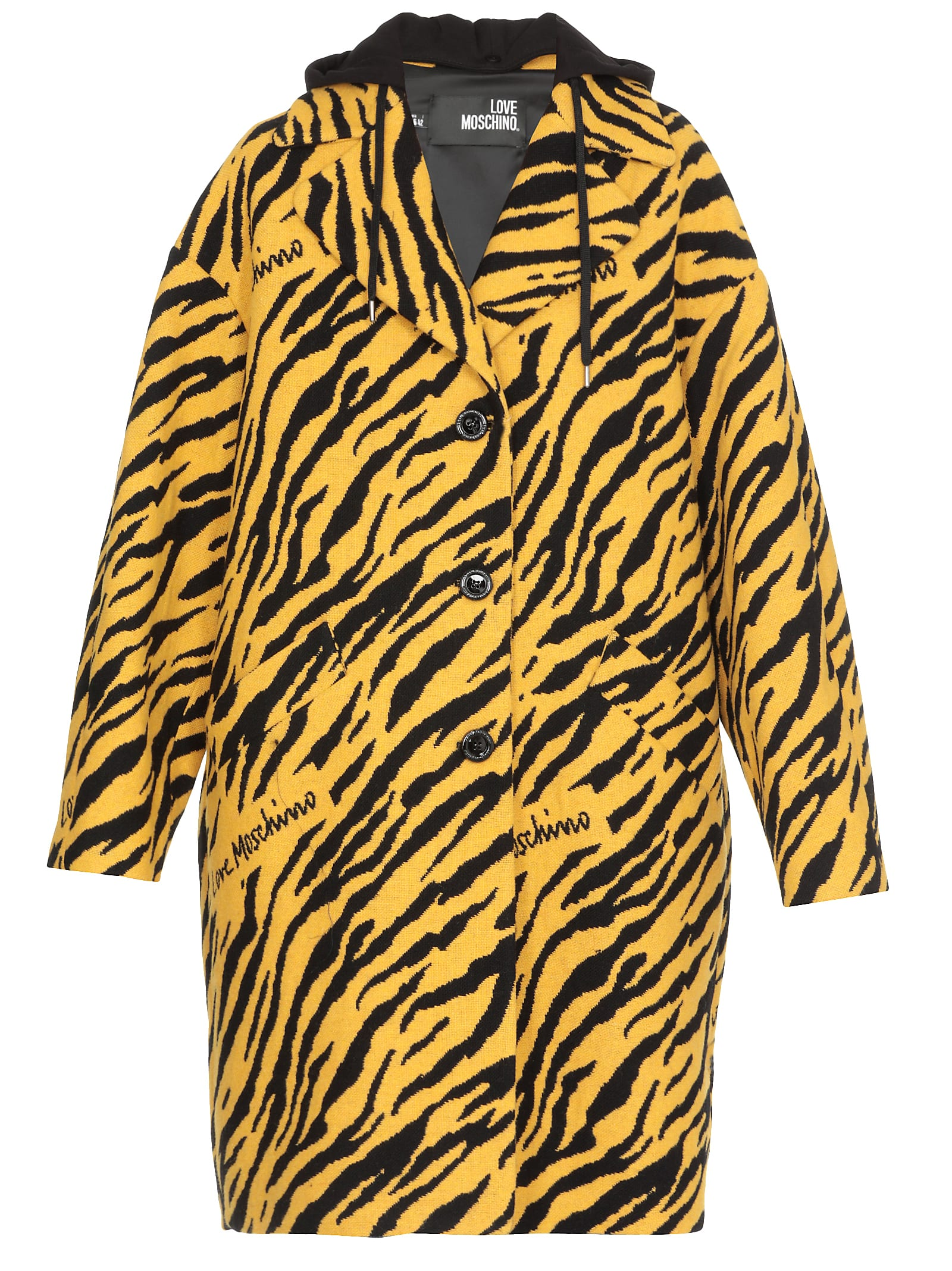 Love Moschino Animalier Coat