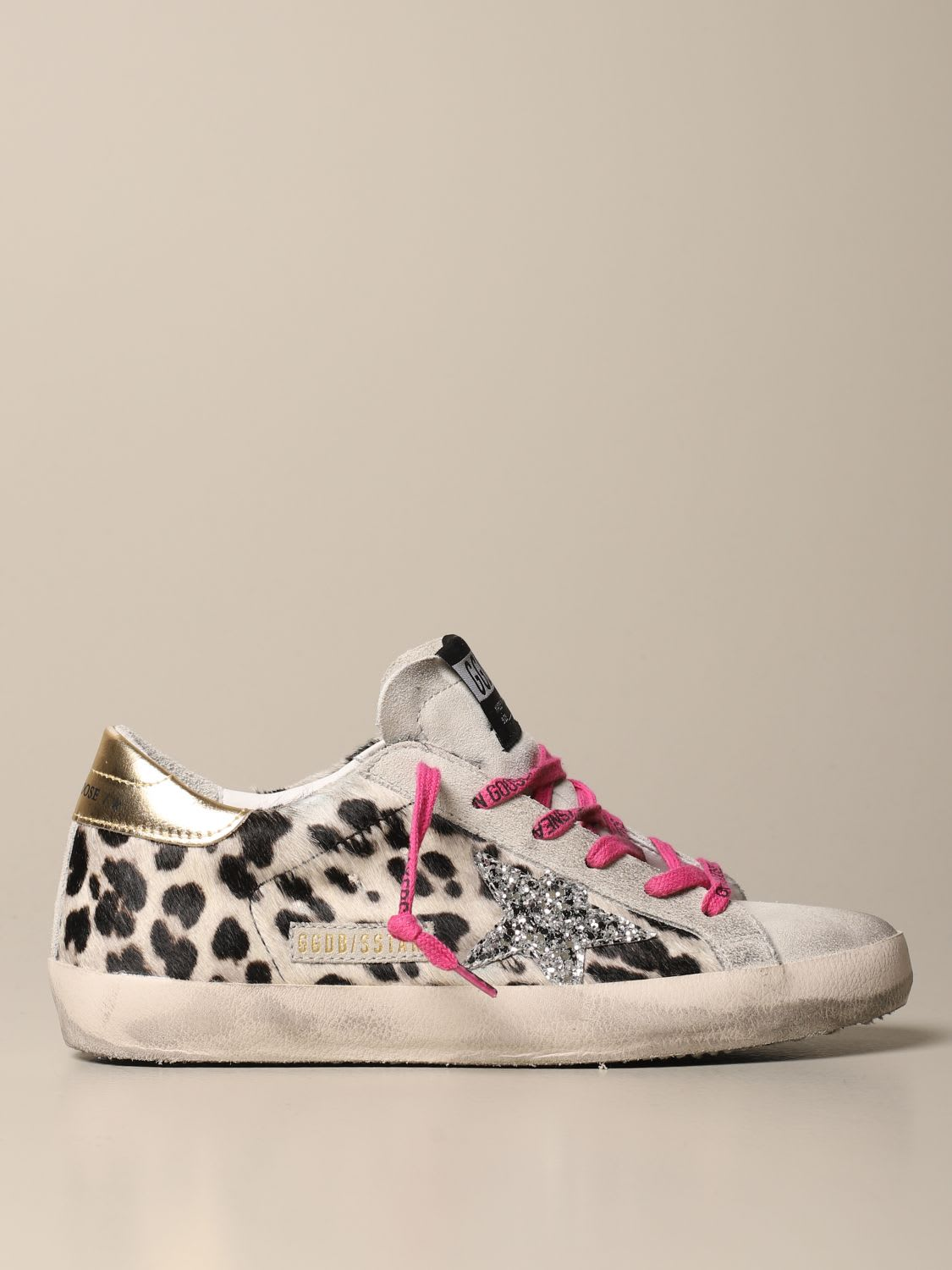 Sneakers Superstar Classic Golden Goose Sneakers In Spotted Pony SkinComposition: 100% Gomma, 97% Pelle Bovina, 2% Polietile