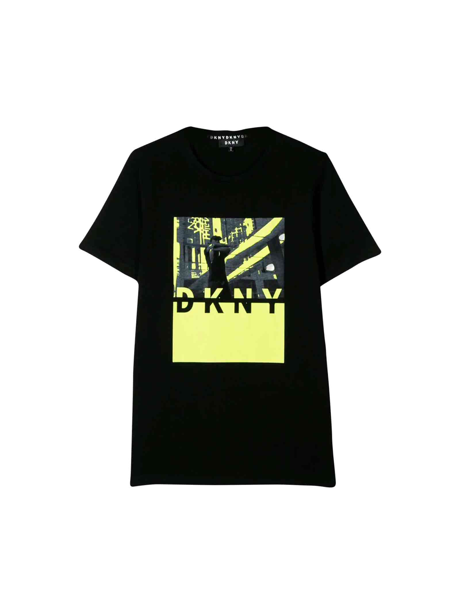 hot-selling genuine crazy price size 40 DKNY Black T-shirt