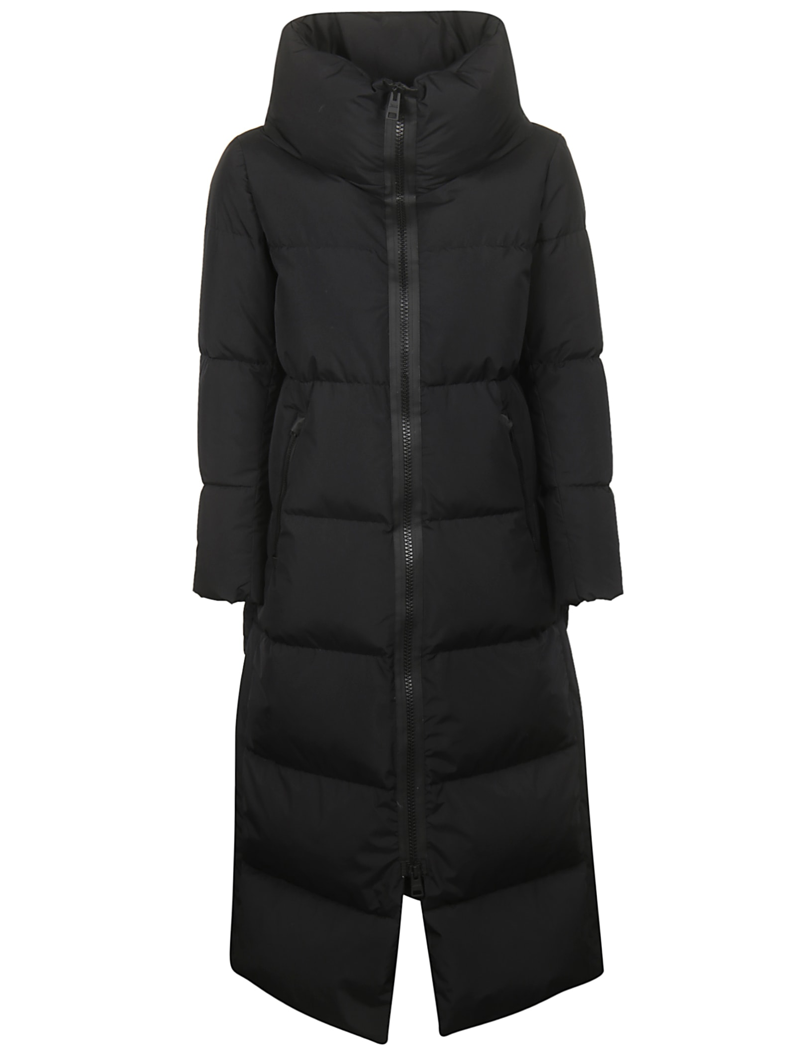 Herno Long Zipped Padded Jacket