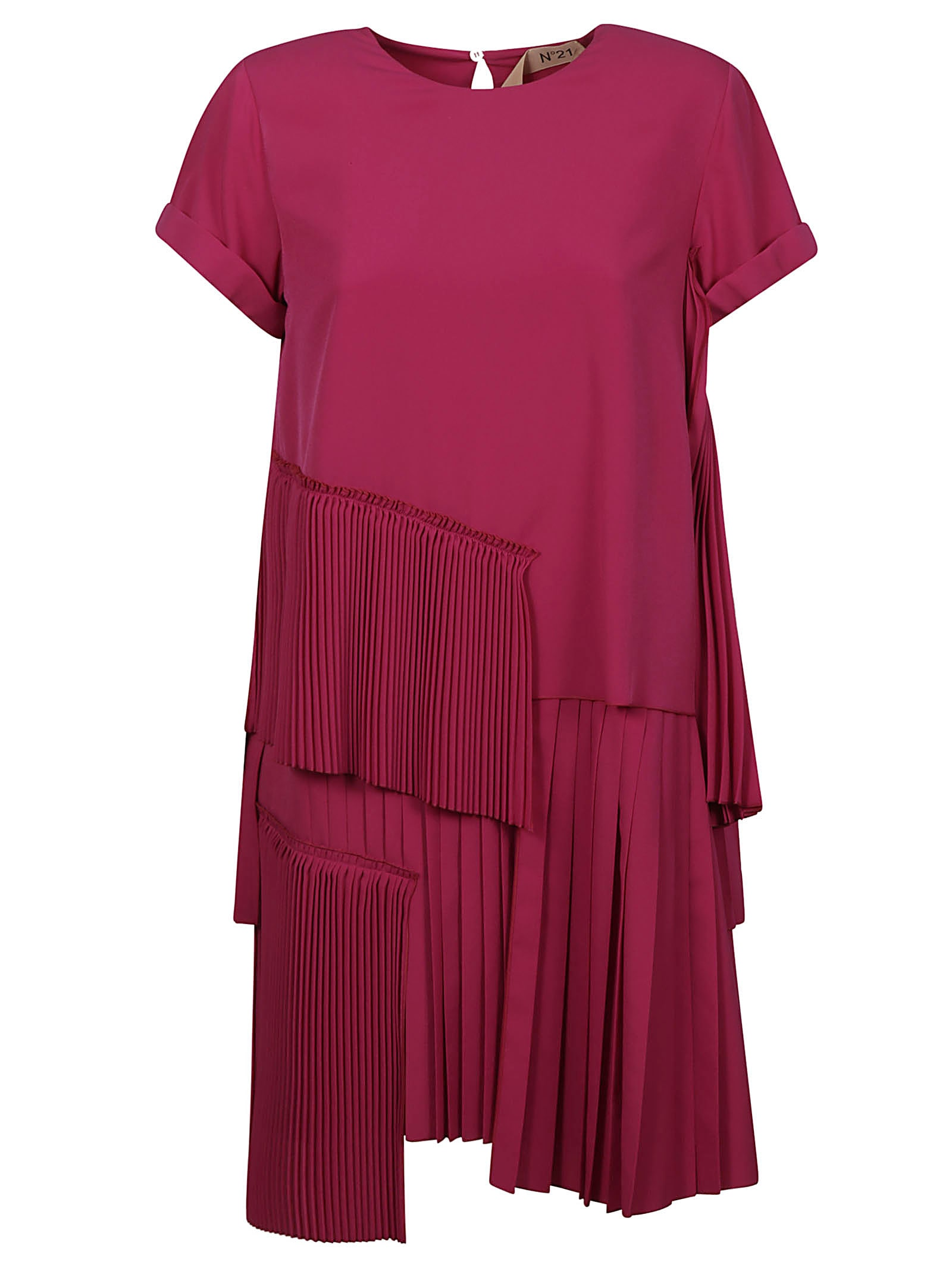 Buy N.21 Layered Pleated Dress online, shop N.21 with free shipping