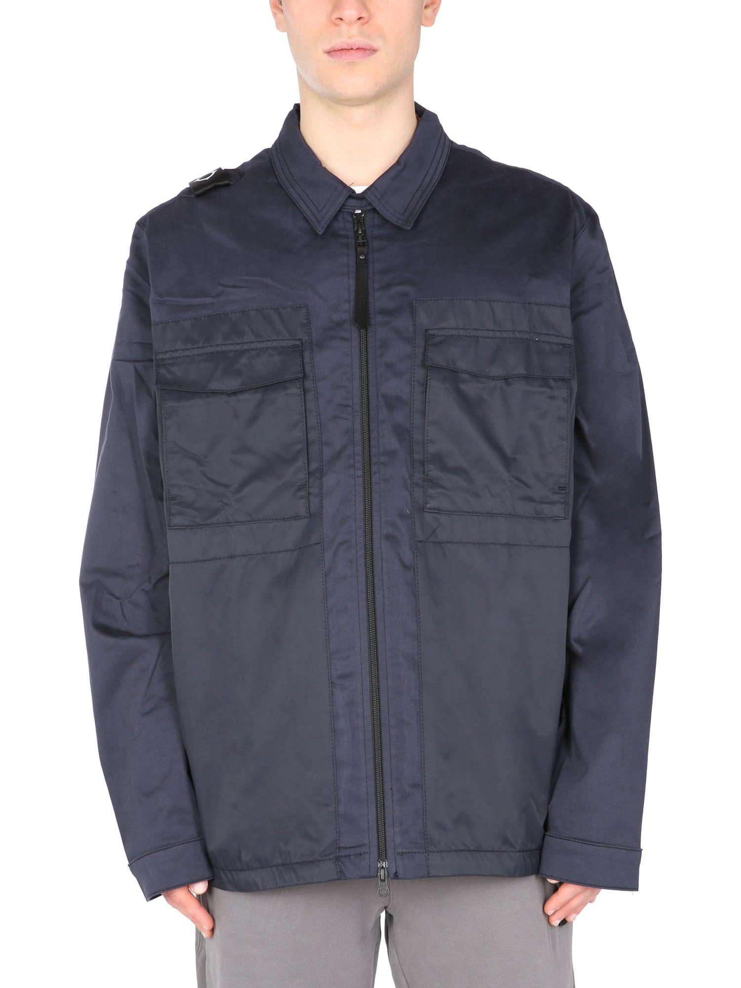 Ma. Strum Shirt With Zip