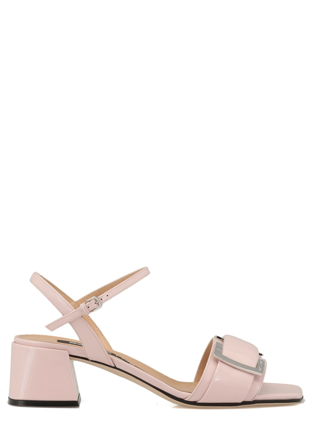 Buy Sergio Rossi Leather Sr Prince Sandal online, shop Sergio Rossi shoes with free shipping